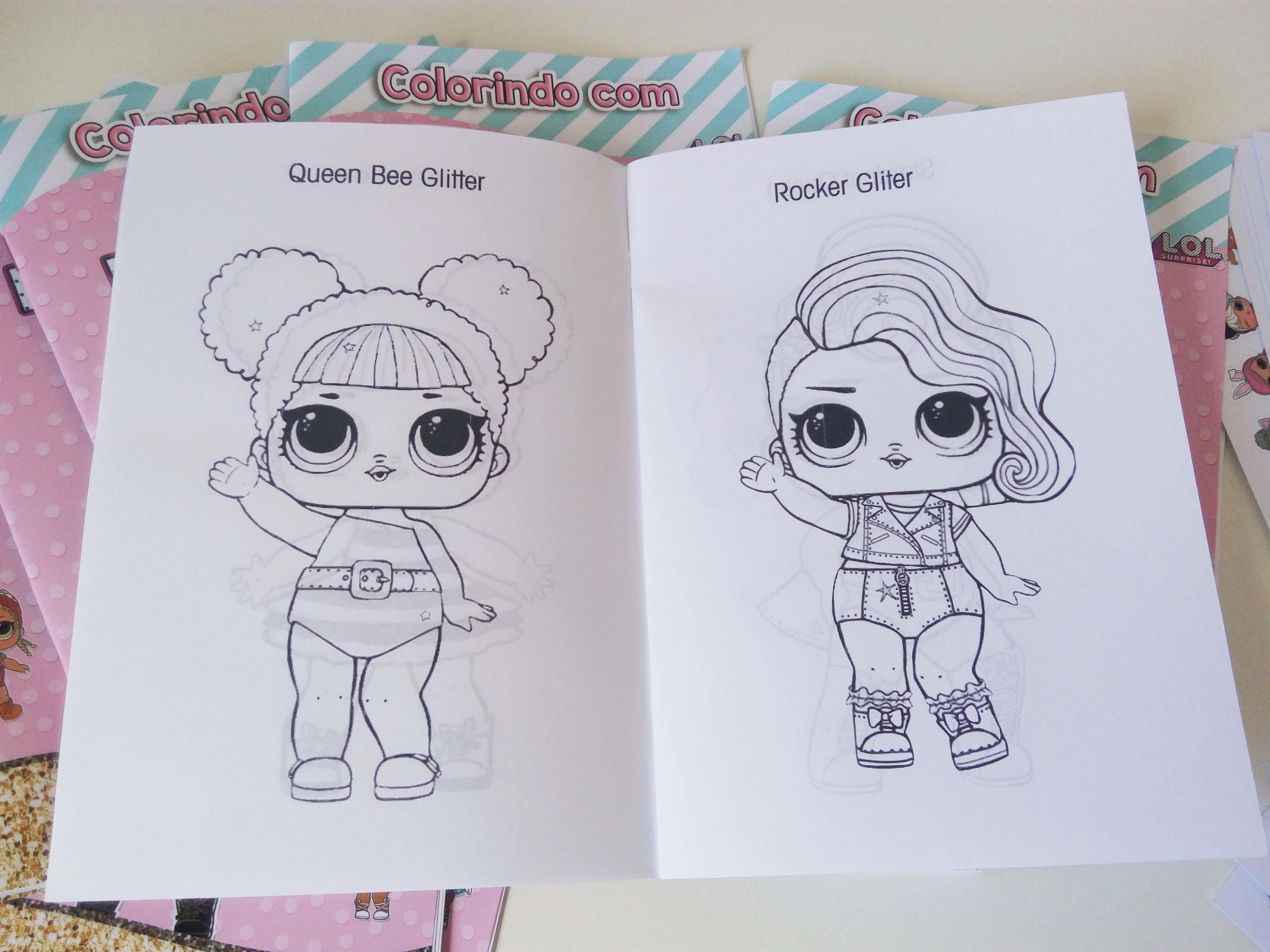 Imagens Da Lol Para Pintar E Imprimir: Desenhos Para Imprimir E Colorir Lol Supresa Bonecas Lol Dolls
