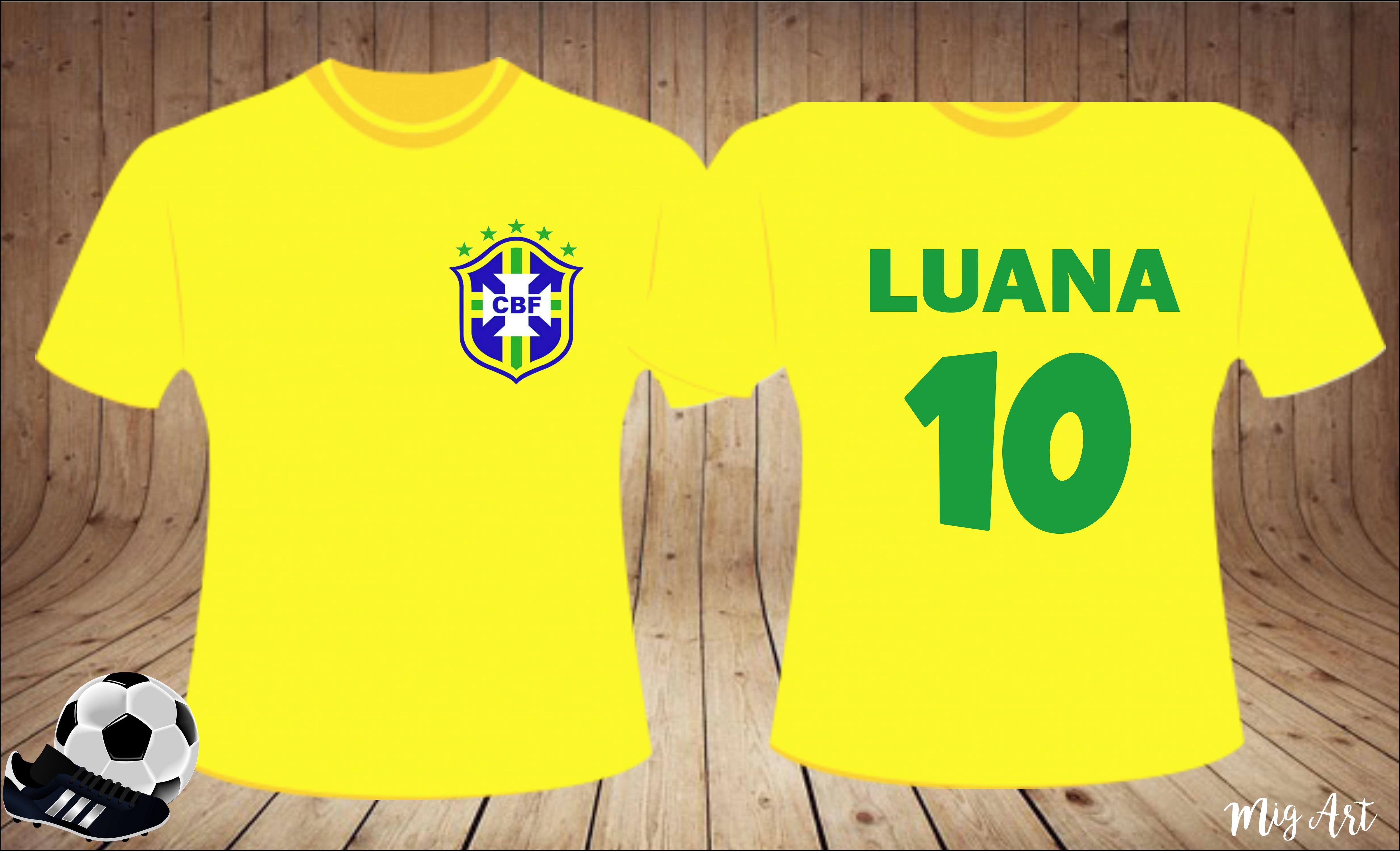 b1d044fadc Camisa Torcedor Brasileiro no Elo7