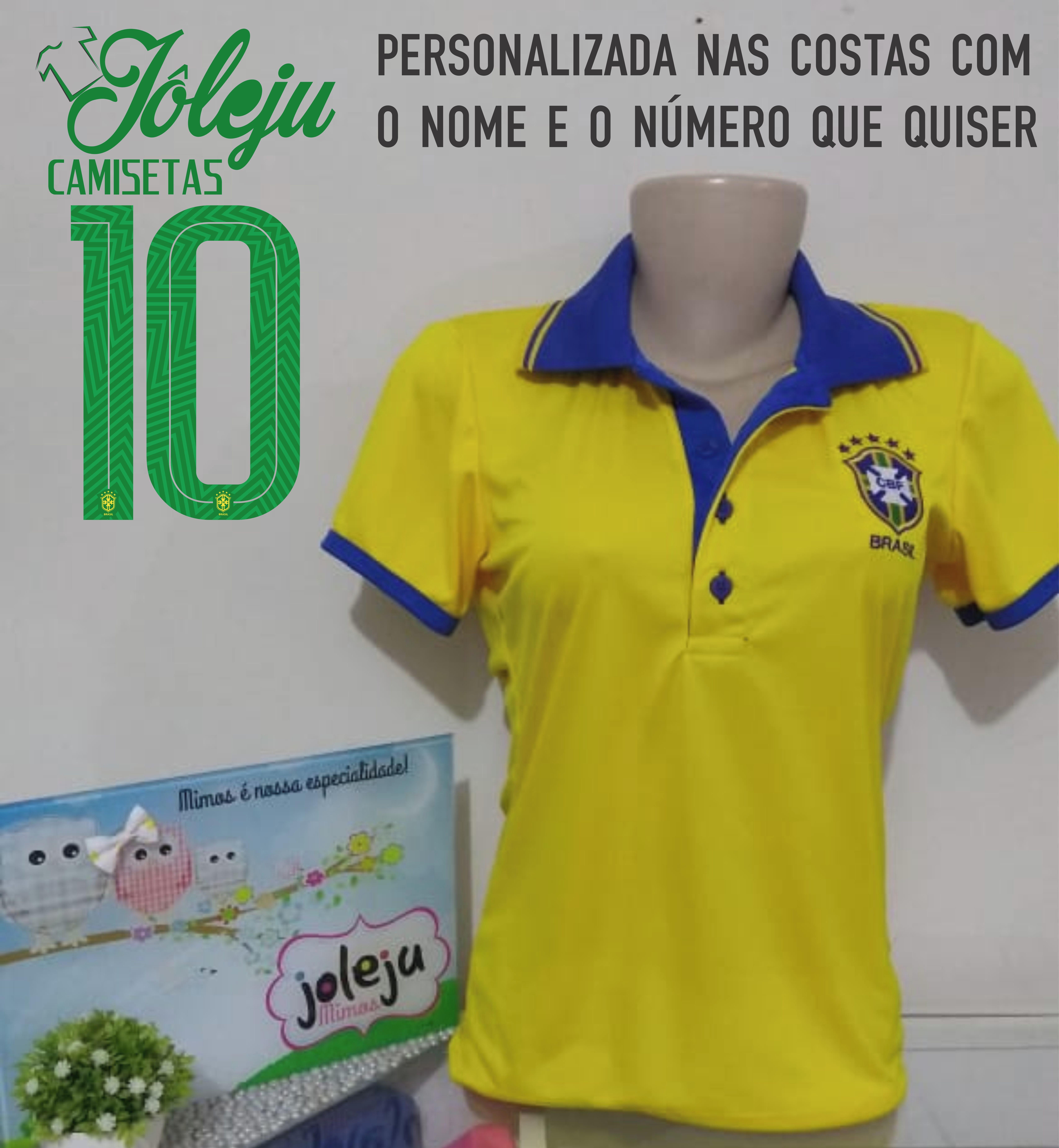 2603a42d0a9fc Polo Seleçao Brasileira