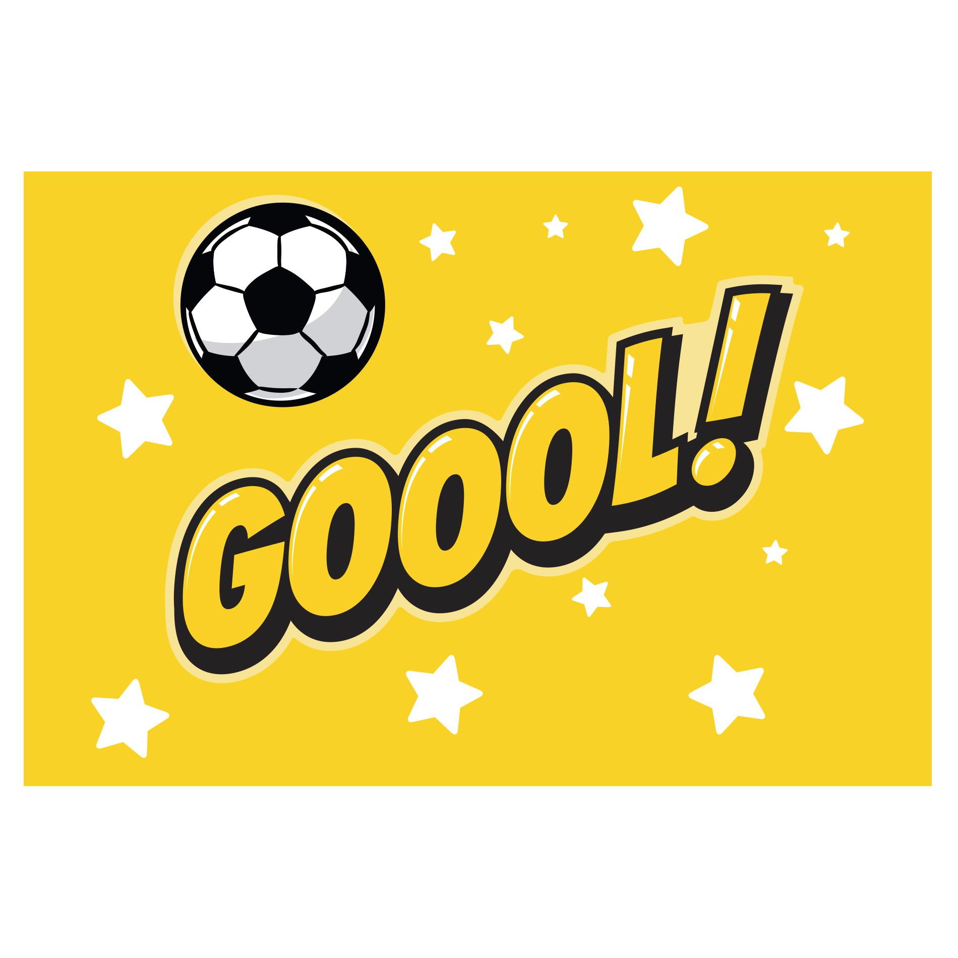 Placa Decorativa Mdf Jogador de Futebol Chute a Gol 30x40cm  8b0805aac93cc