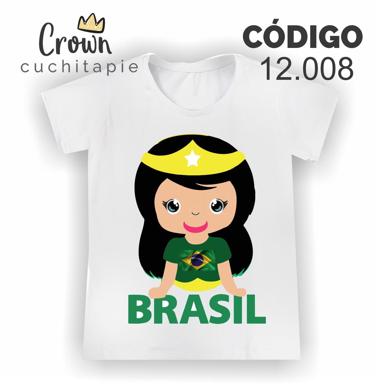 3f177ed73e Baby Look do Brasil 2018