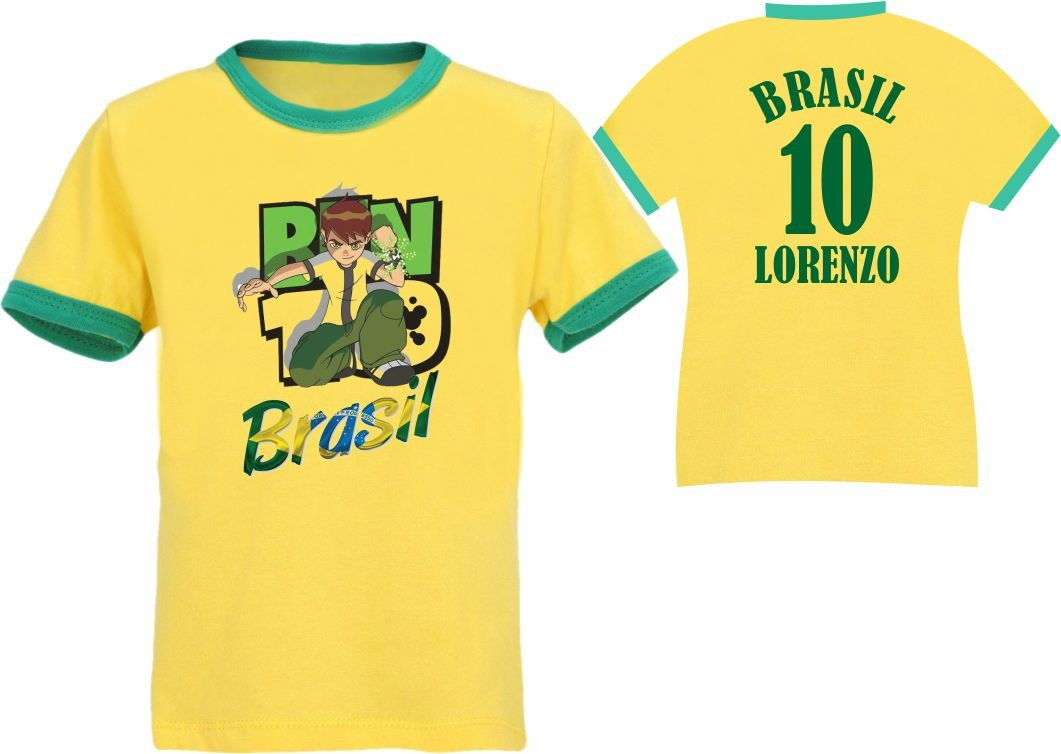Camiseta Infantil Copa do Mundo 2018  ad64d0972472d