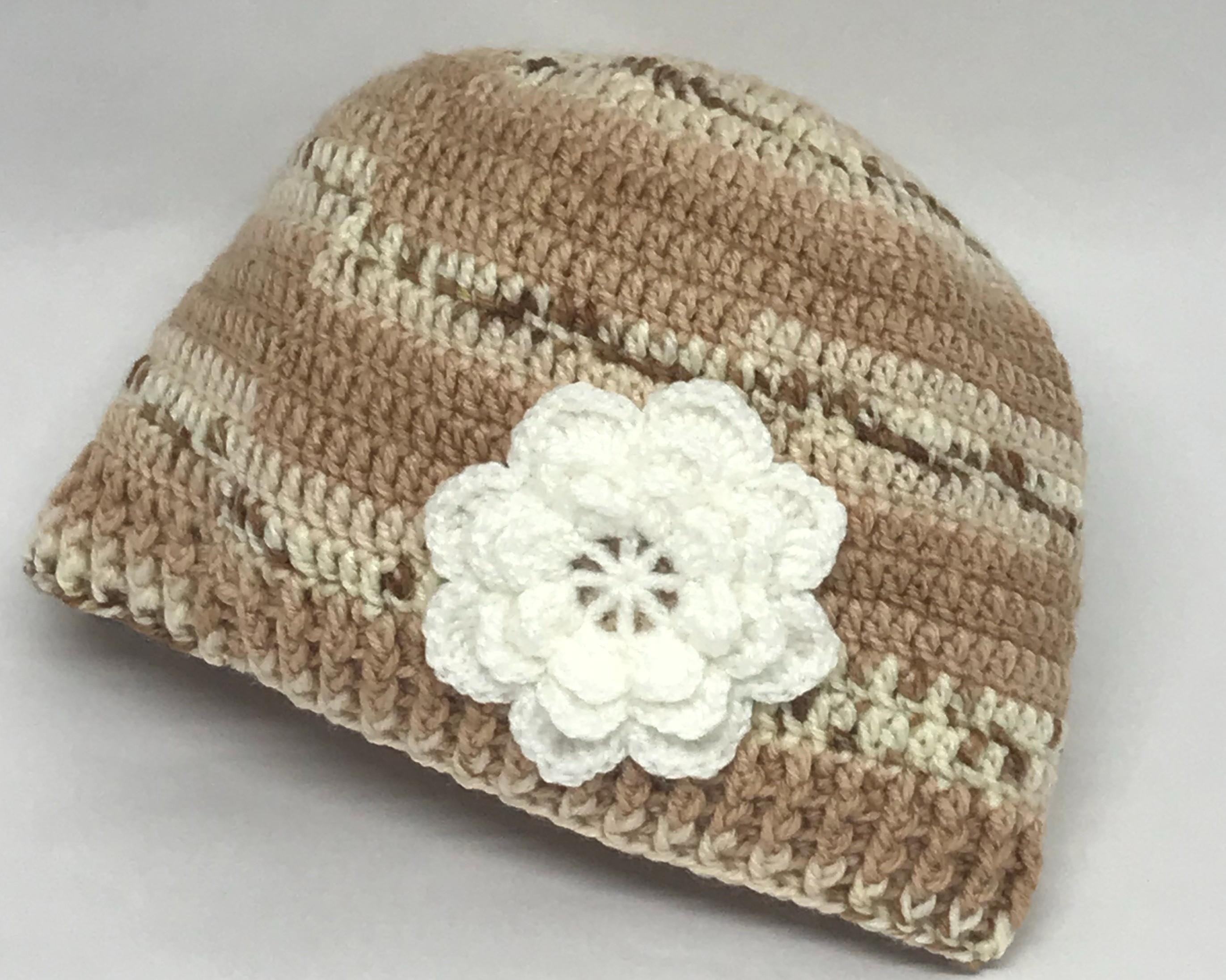 Boina de Croche Infantil 4 a Anos  06948d09950