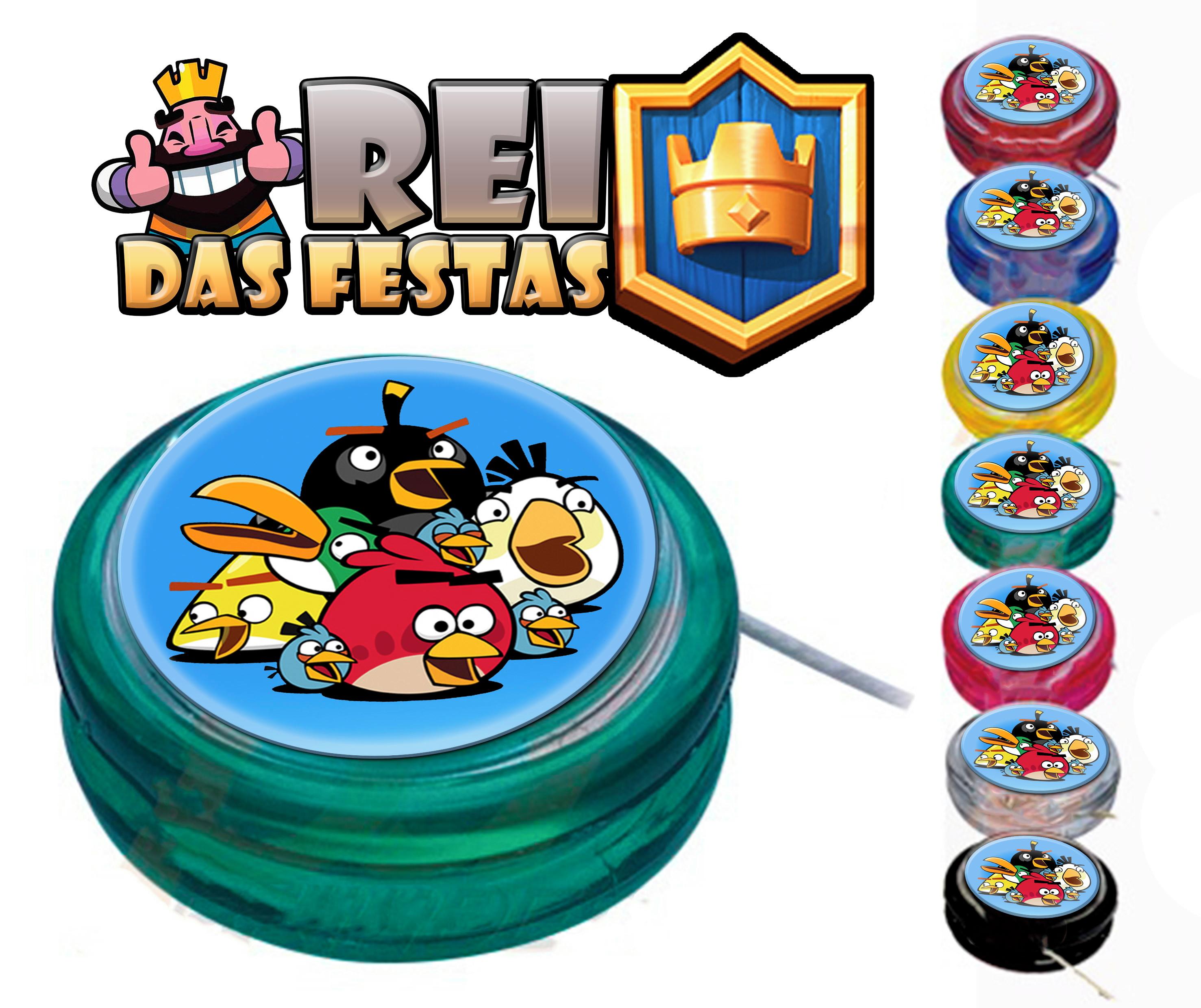 Io Io Personalizado Angry Birds No Elo7 Rei Das Festas C6fa08
