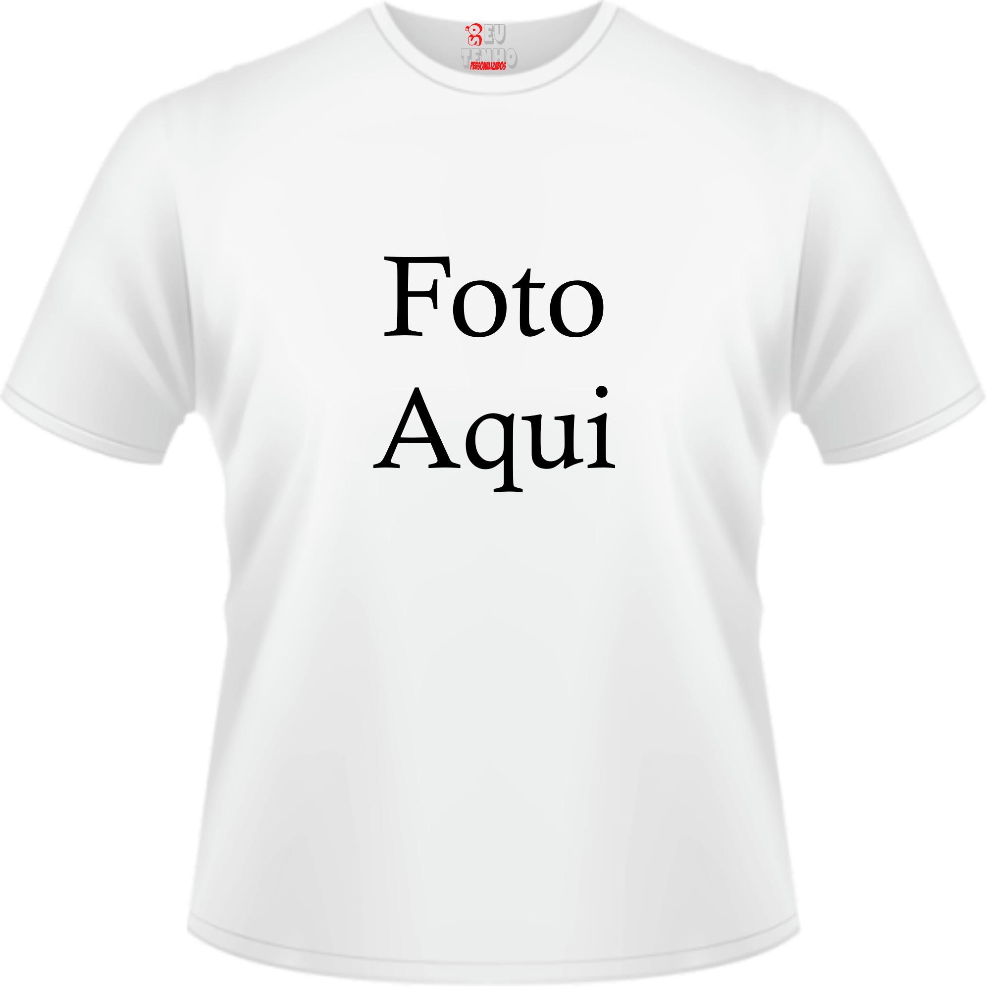 Camiseta Personalizada Com Foto Elo7