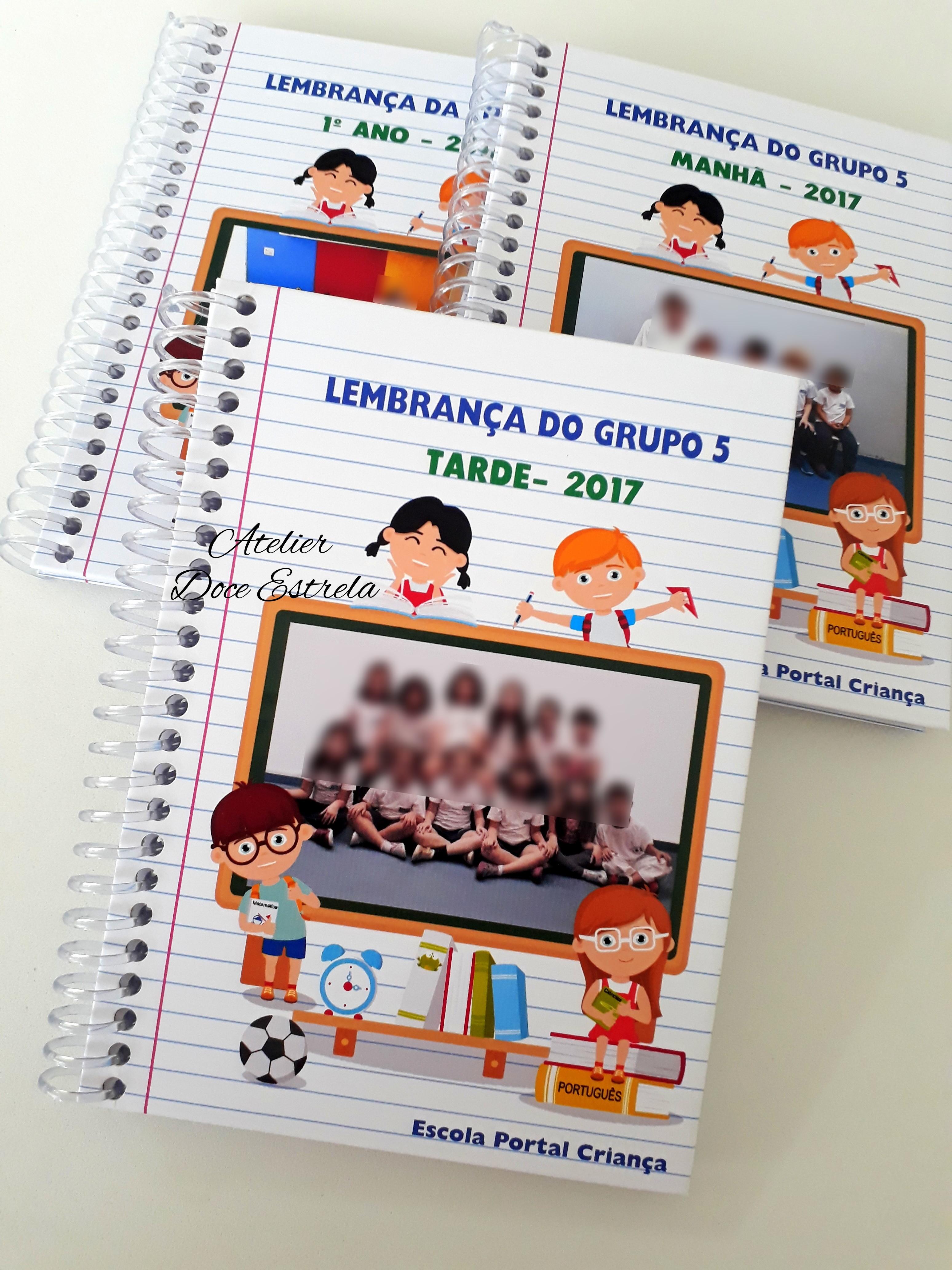 Caderno Personalizado Infantil Elo7