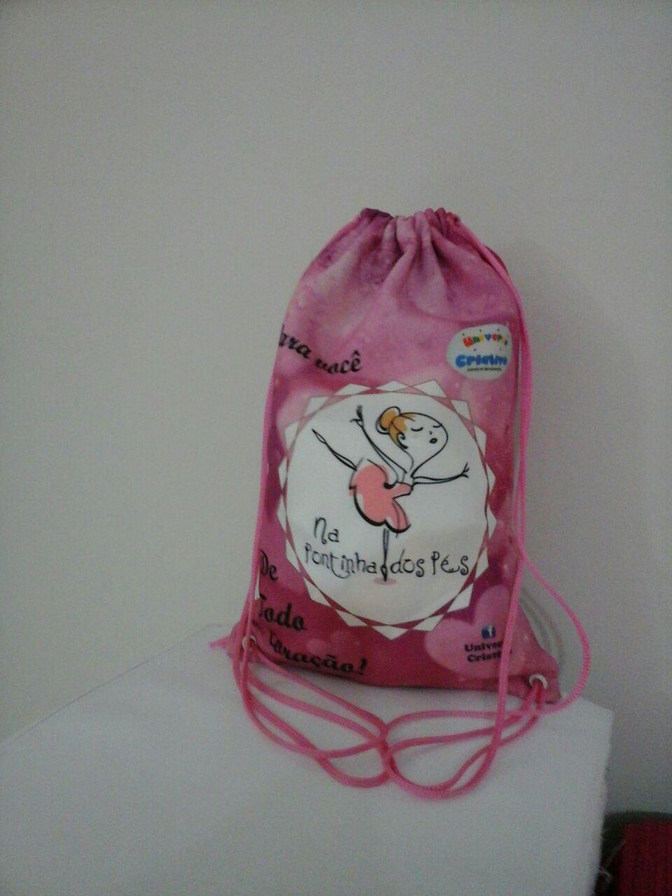 55bbfd4e0 Sacochila mochila saco 19x27cm kit com 30 unidades no Elo7   Vilma  lembrancinhas (C719E2)