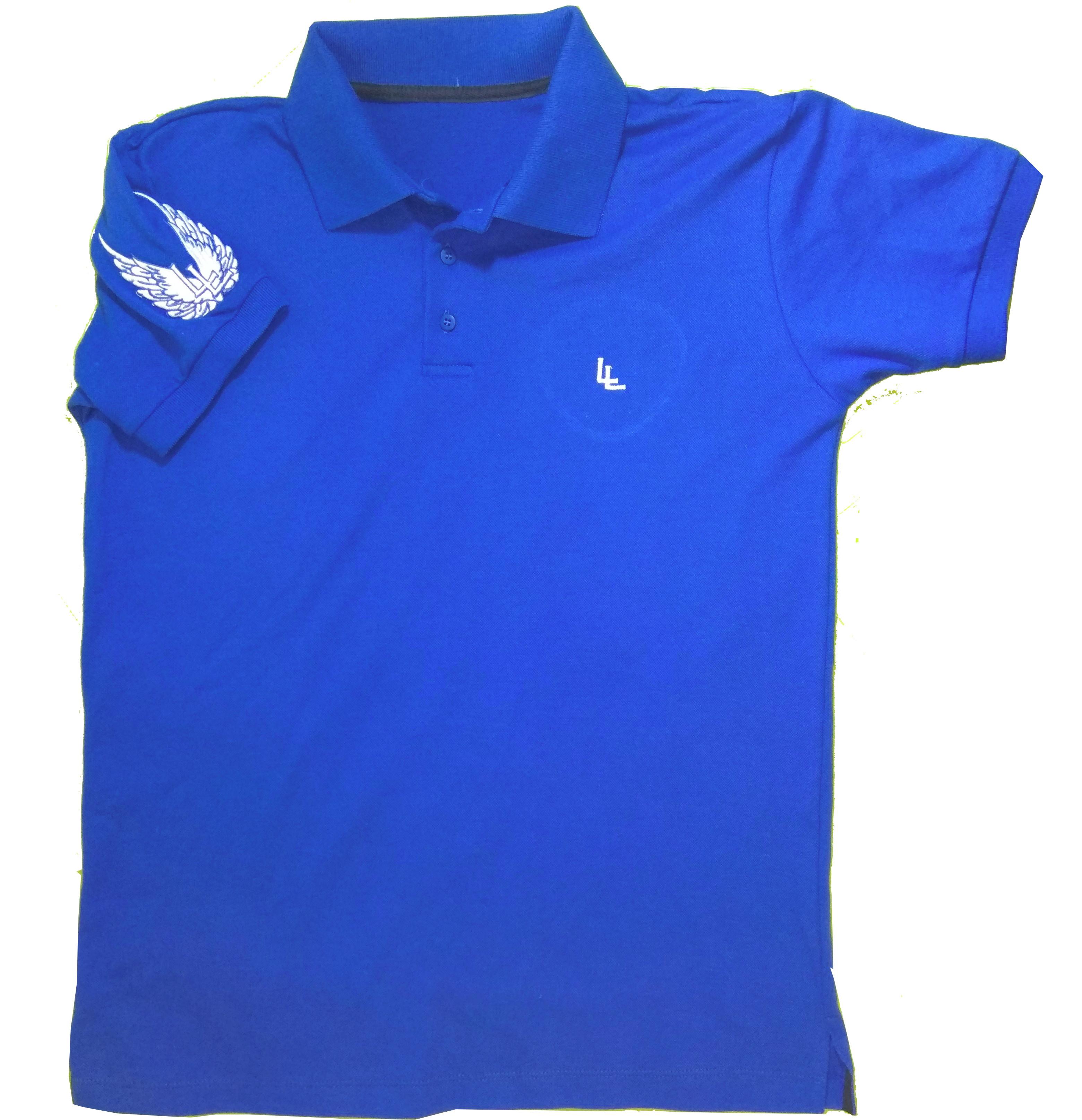 a6d9b9ddb30b5 Camisa polo masculina piquet azul Limitless + brinde no Elo7   Felype  Fernando Leiroze Silva (C72651)