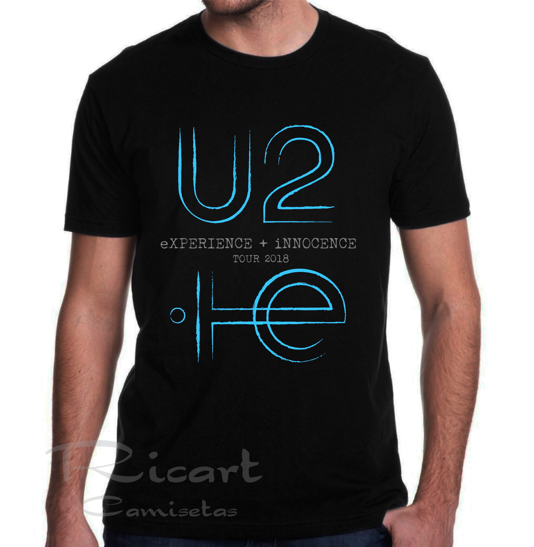 Camiseta da Banda Irlandesa U2  3b16abef5d96a