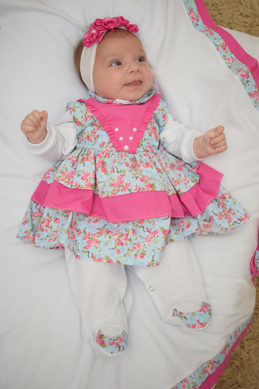 Saida de Maternidade Principe 5 Pecas  936c7166f32