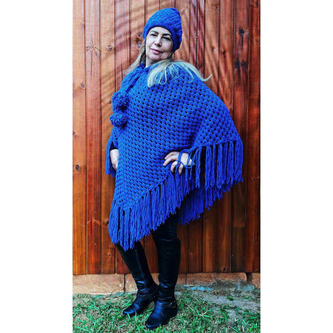 Pompons de La Azul Mesclado  e0a87ef2486