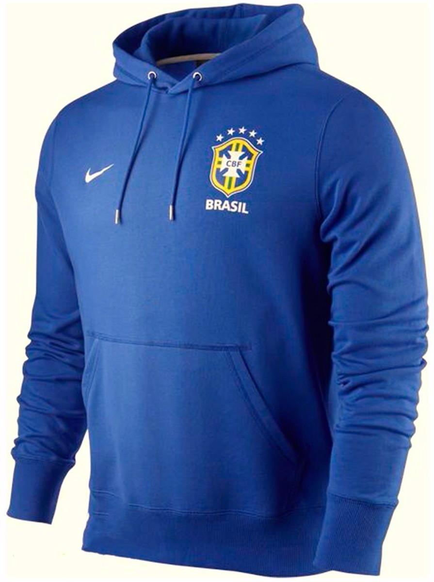 6446c56c9a Blusa de Frio Moletom Selecao Brasileira