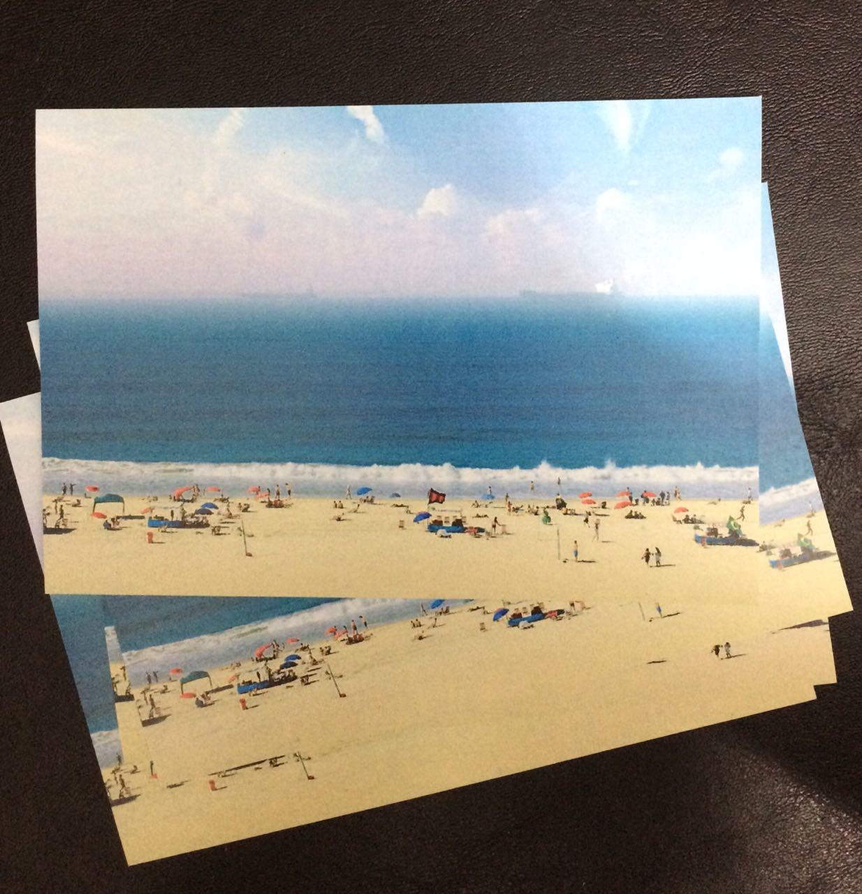 9a29c7526c1e Canga de Praia Postais Cariocas | Elo7