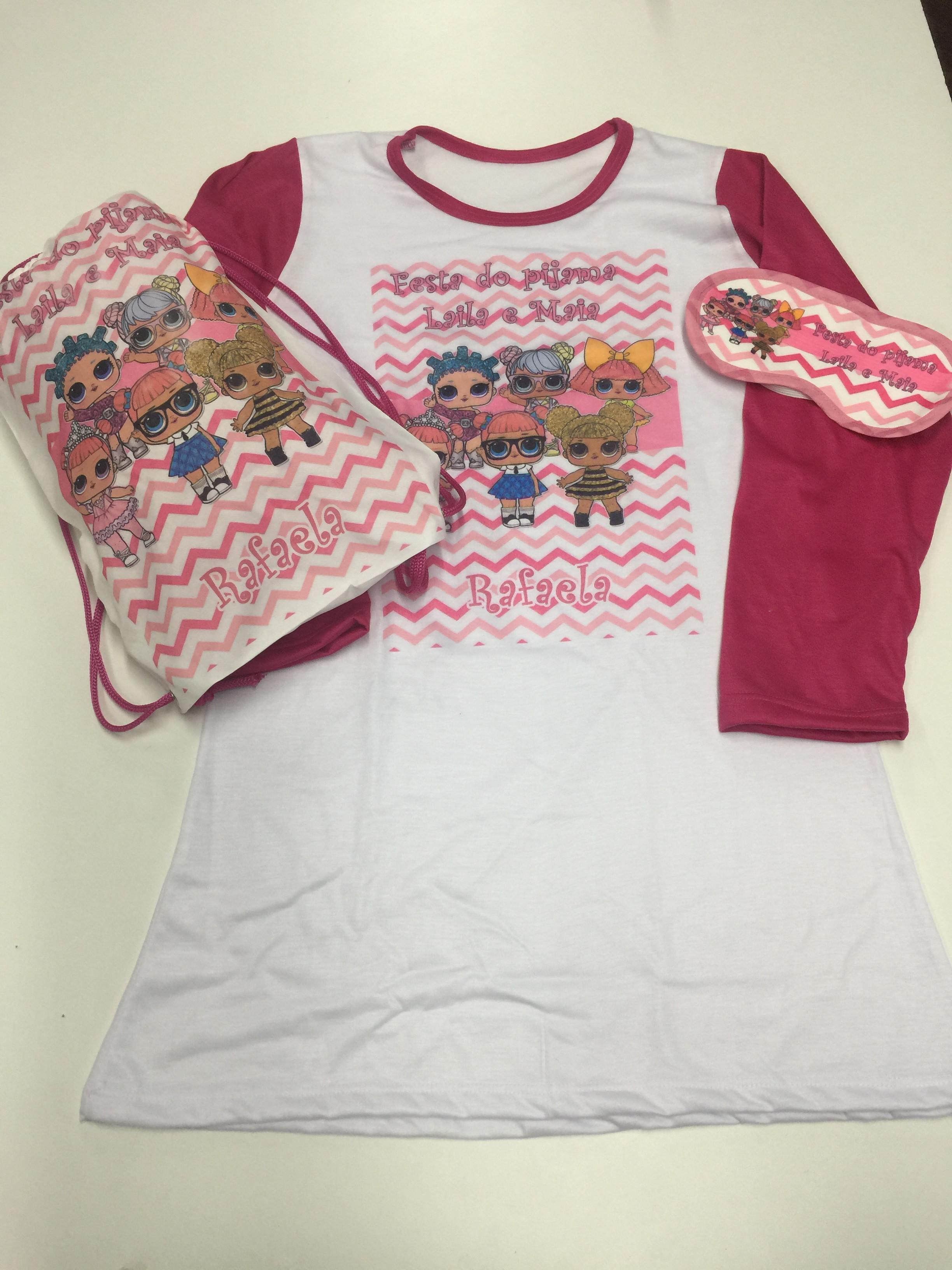 65c04af01fc2db kit festa do pijama Lol