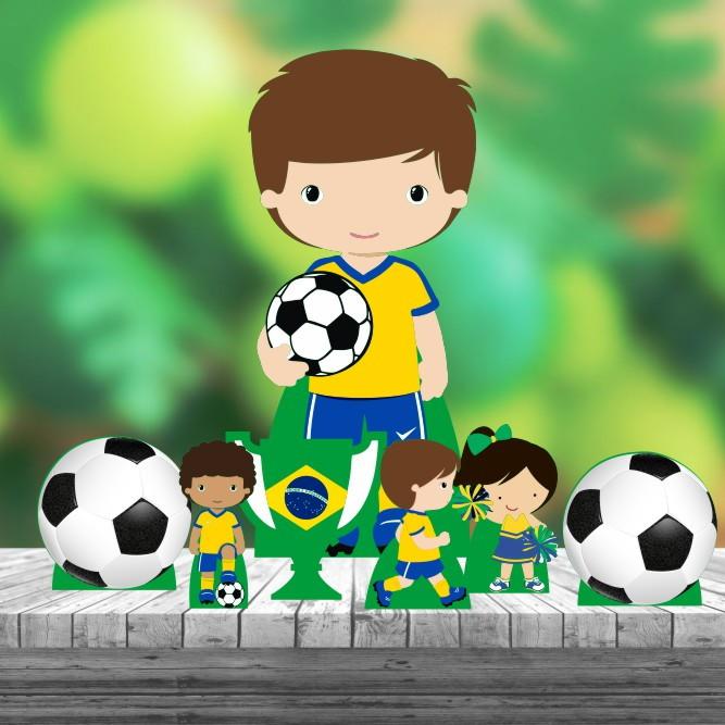 Kit 7 Pulseiras Futebol  2622898bd3c26