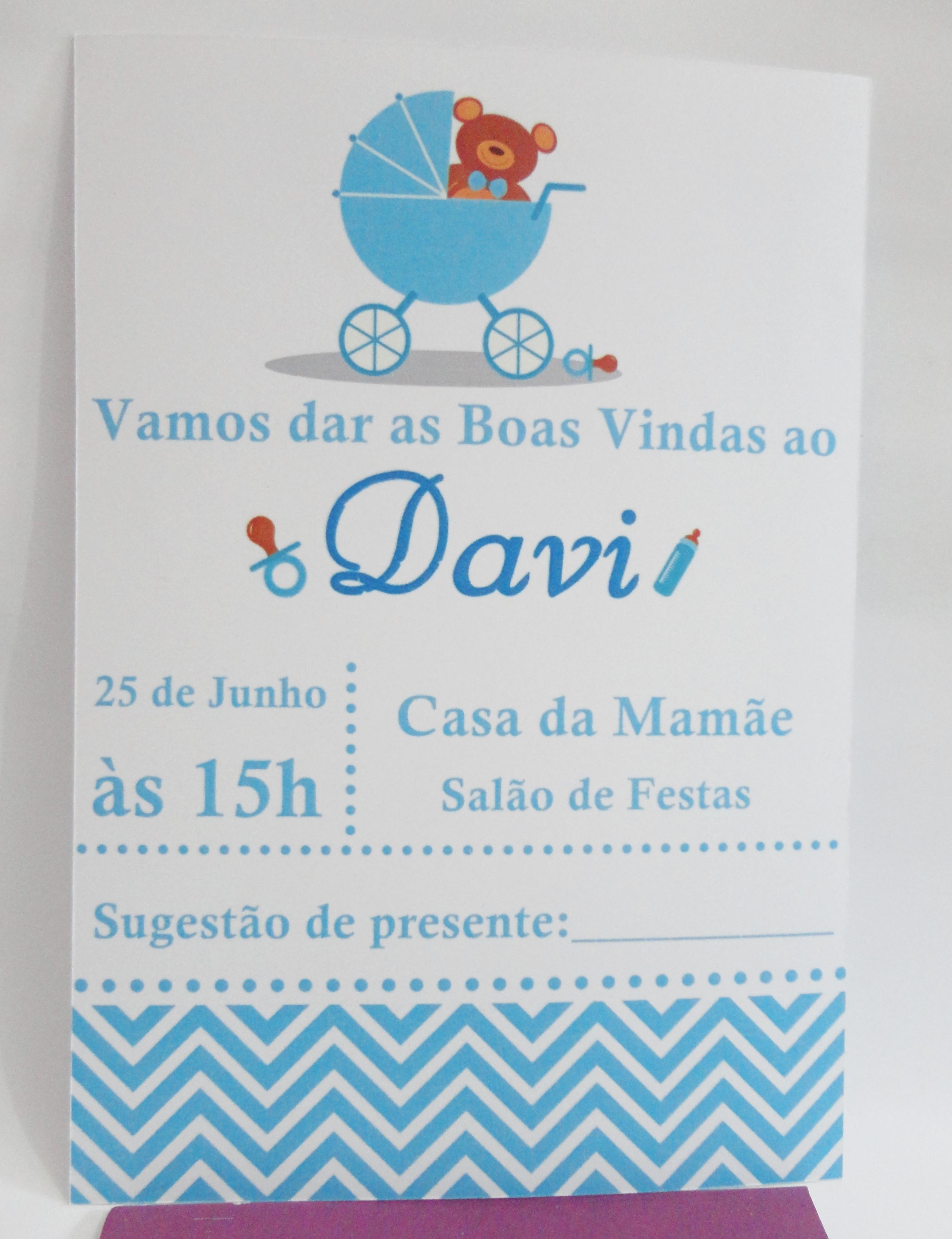 Convite Chá De Bebê No Elo7 Lays Ferreyrah Lembranças Convites