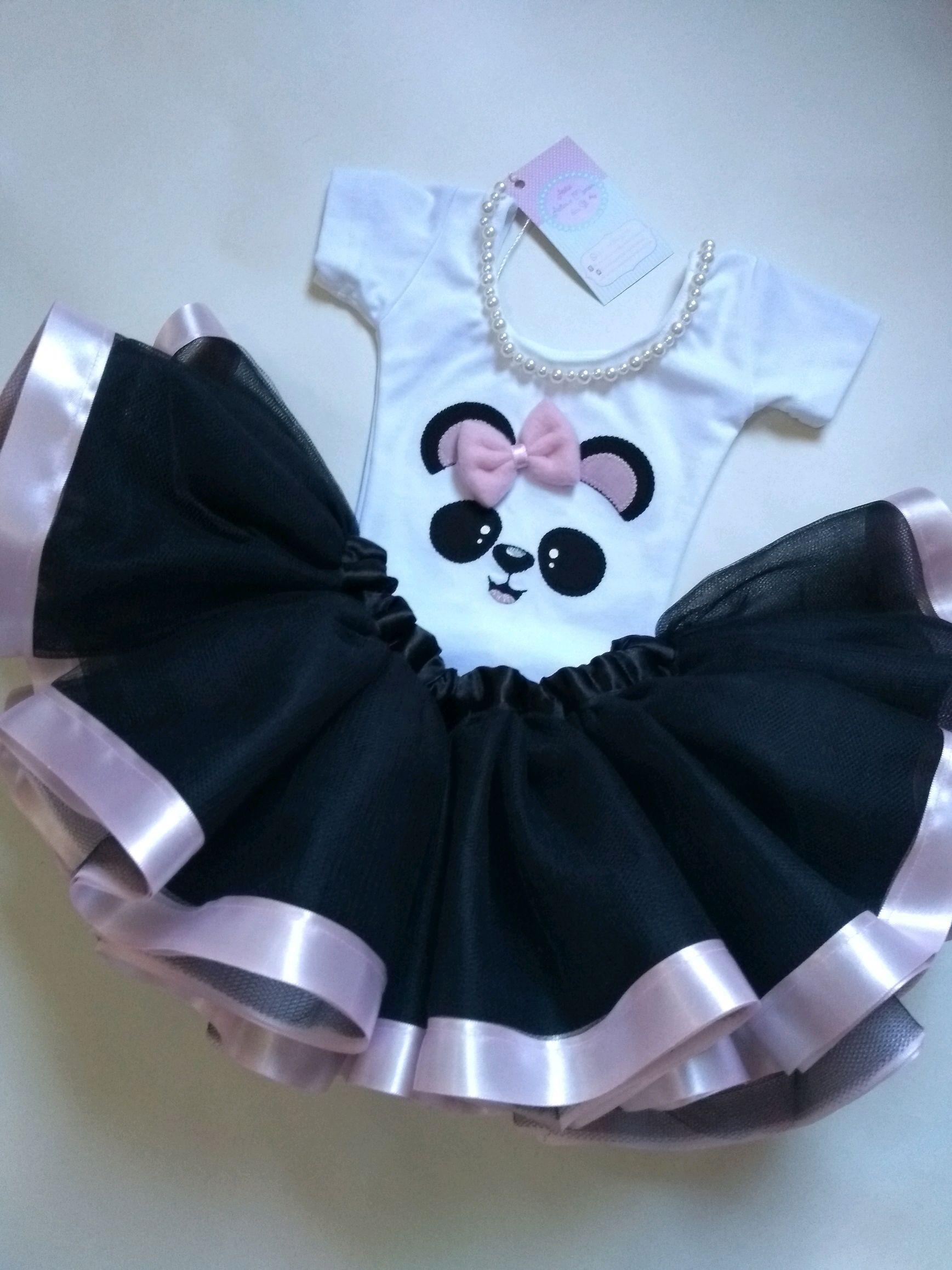 Fantasia Infantil Tutu Festa Panda Baby 1 2 Anos No Elo7 Atelie Artes E Mimos Da Sil C1a8c3