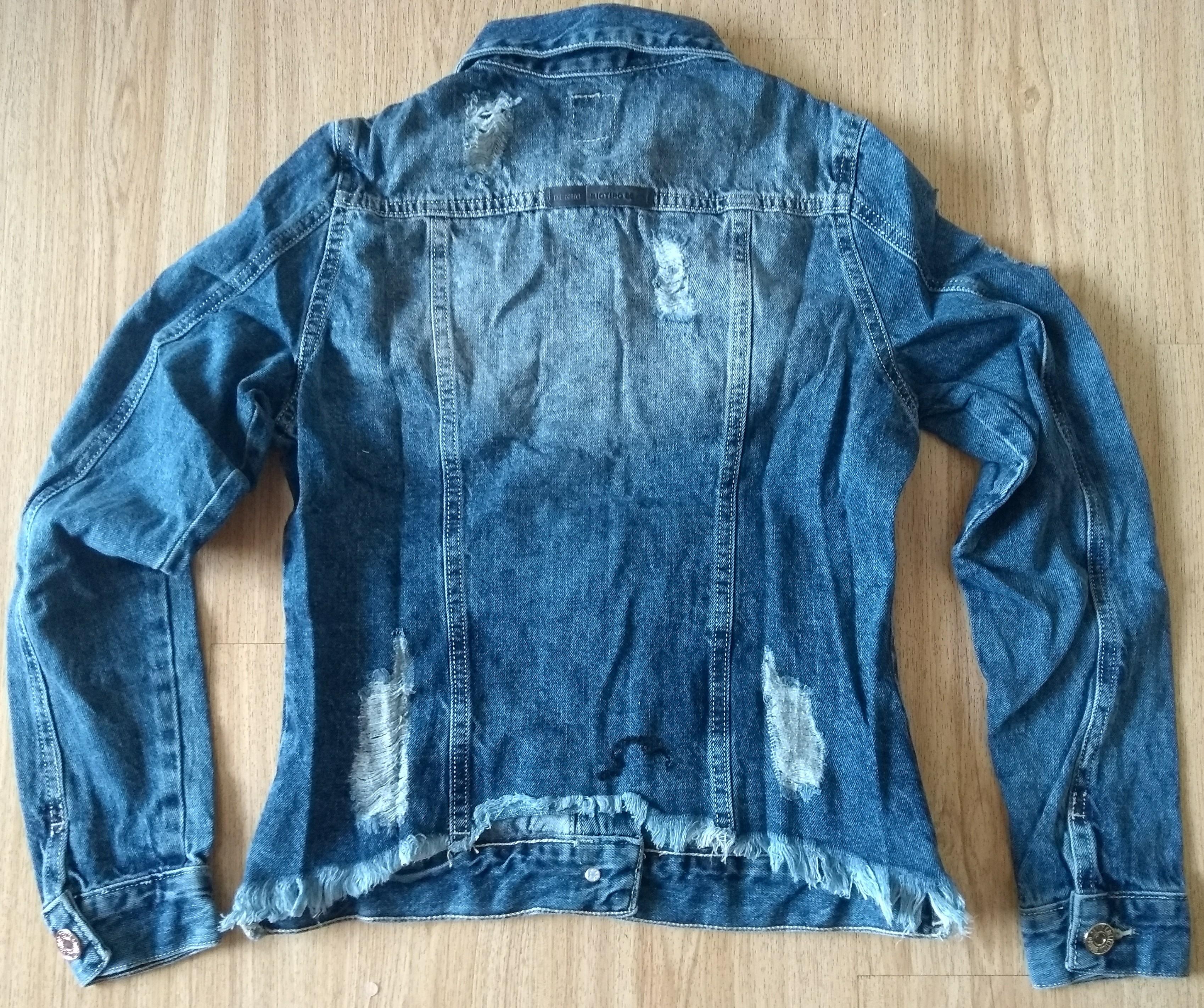 1c49a7bf09 Jaqueta Jeans Feminina Biotipo Destroyed no Elo7