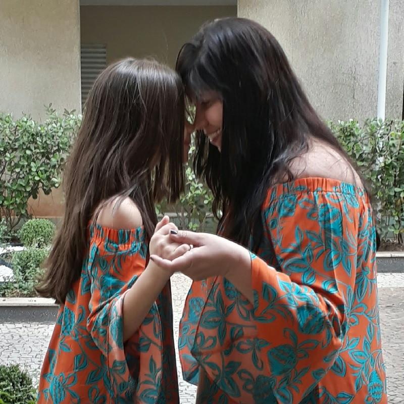4493de877 Vestido Ombro A Ombro Infantil Meia Manga - Viscose no Elo7 | Cinderela's  (C8A073)