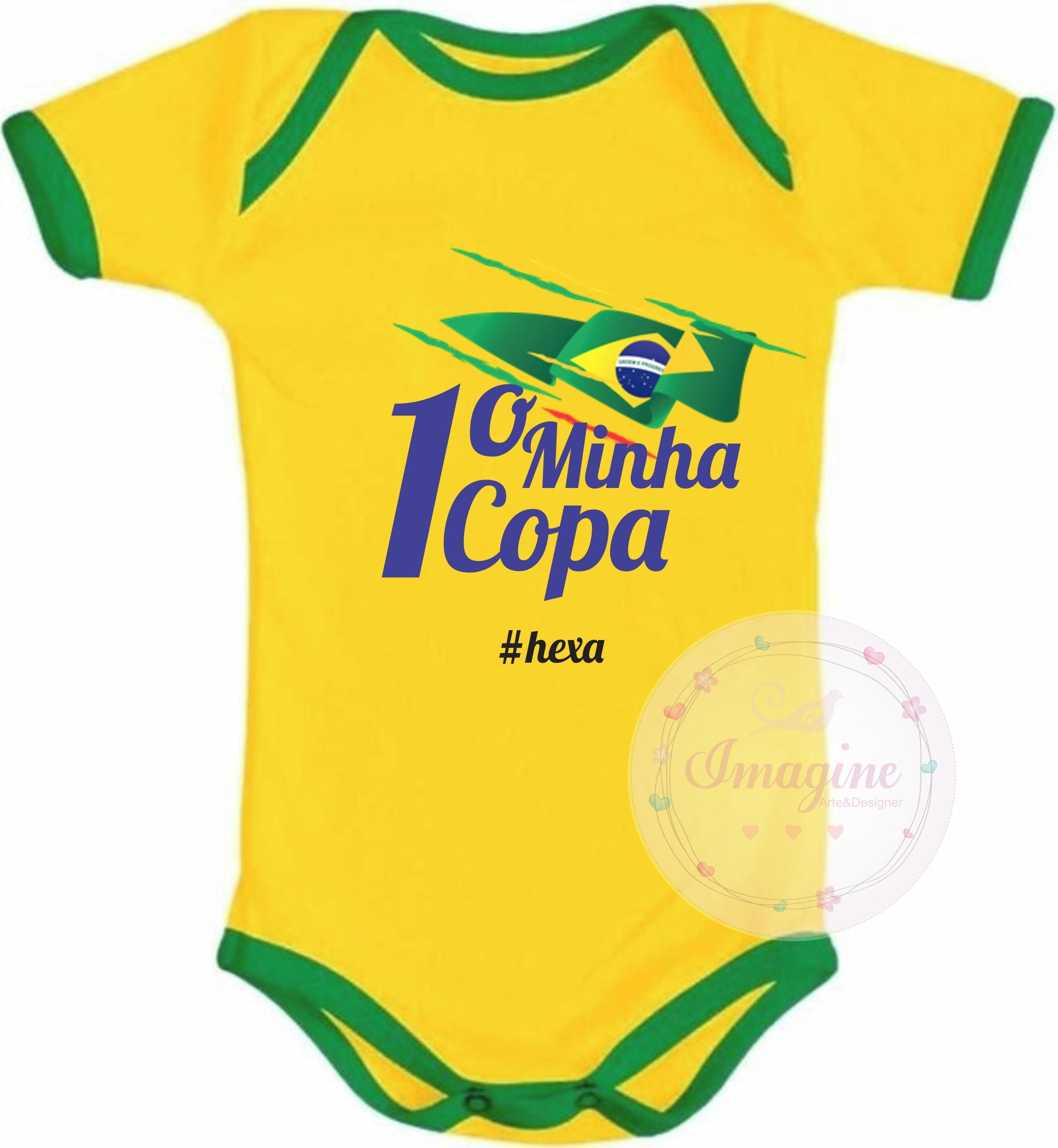 9d79c4d50f Camiseta Copa do Mundo Brasil 5 Estrelas