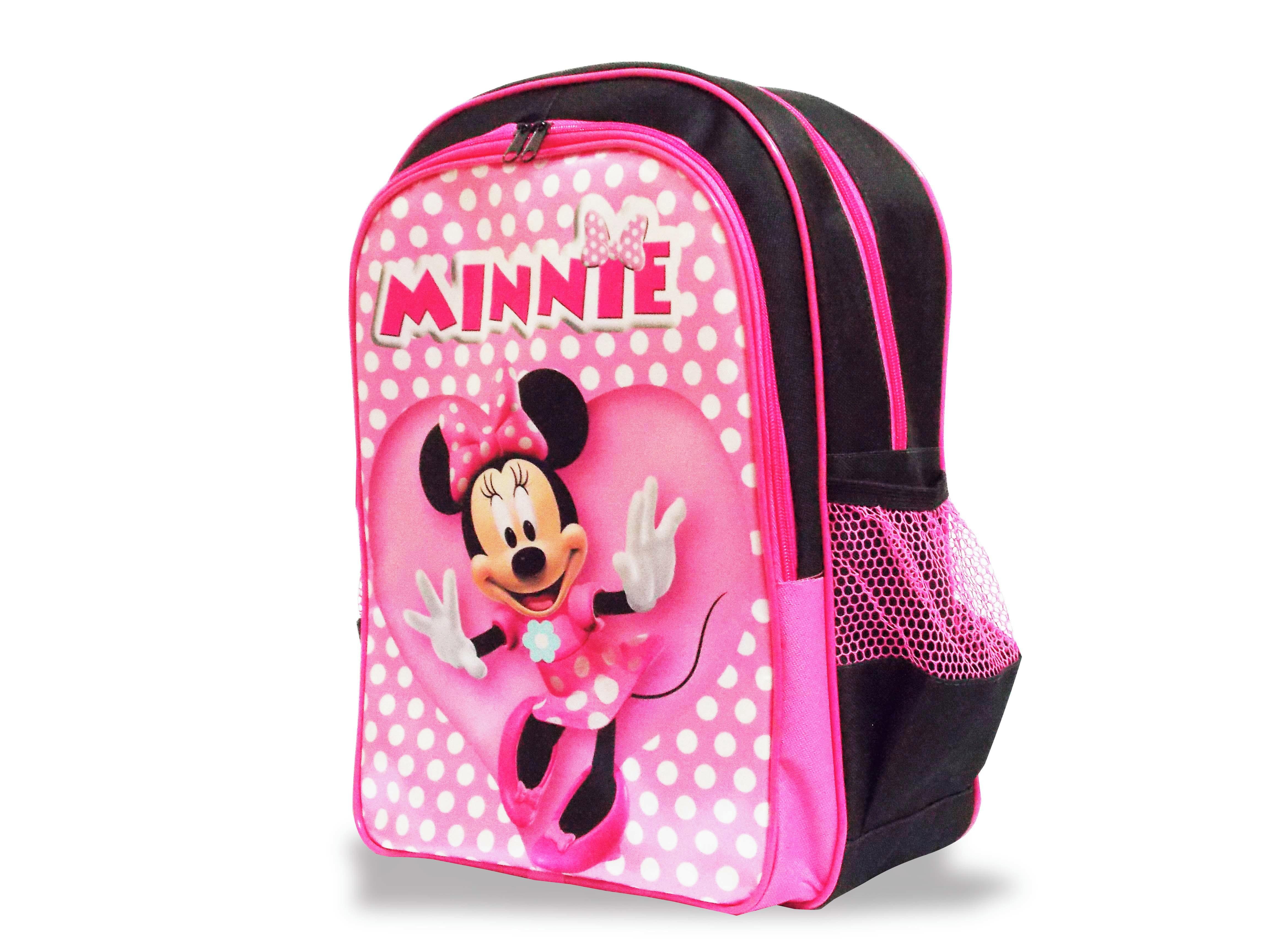 4fd6a409f5 Kit Mochila Minnie Mouse de Costas Tam M no Elo7