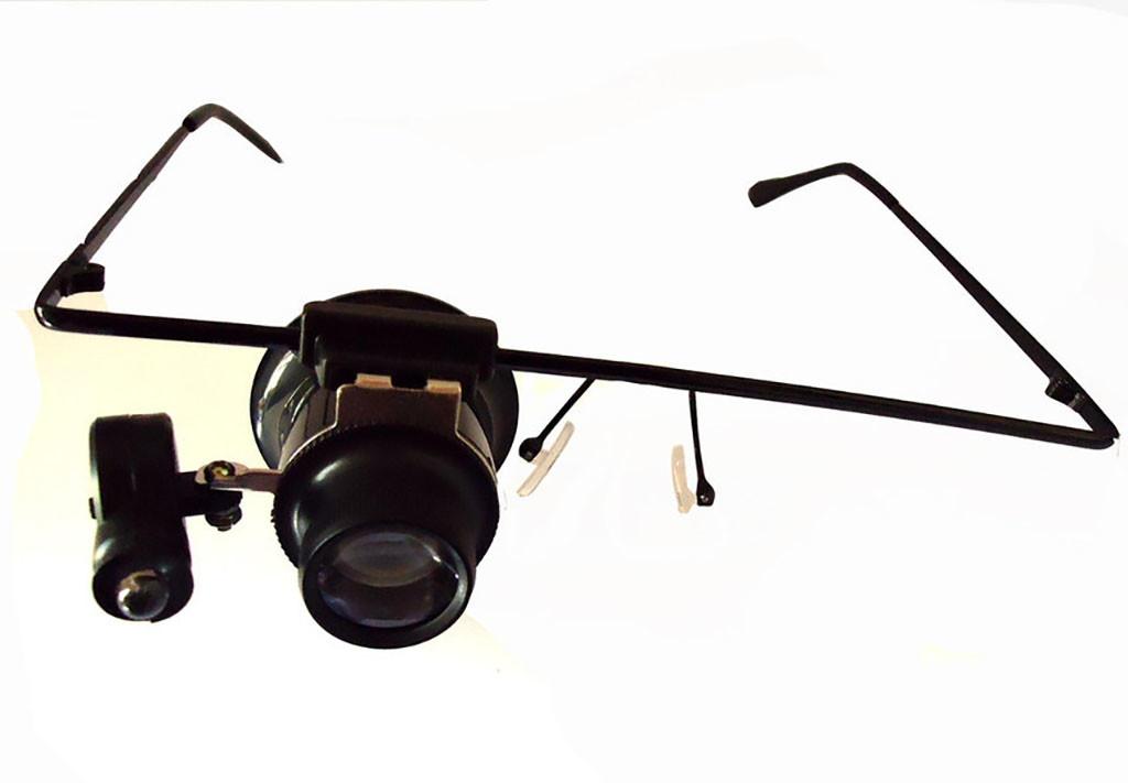 e2ae320ffdd79 Lupa Oculos Com Led Lente 20x Para Relojoeiro Ourives no Elo7   Encaplast  (C8DE4E)