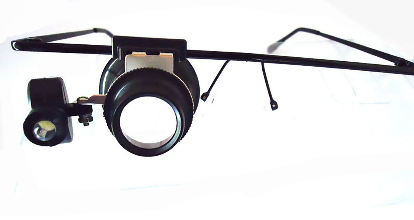 0102b66dc7fc3 Lupa Oculos Com Led Lente 20x Para Relojoeiro Ourives no Elo7   Encaplast  (C8DE4E)