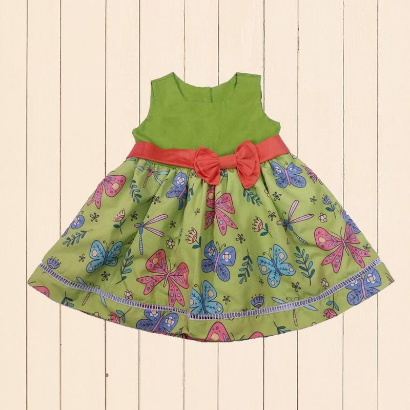 Vestido Bebe Borboleta  92fbdaf85c5d