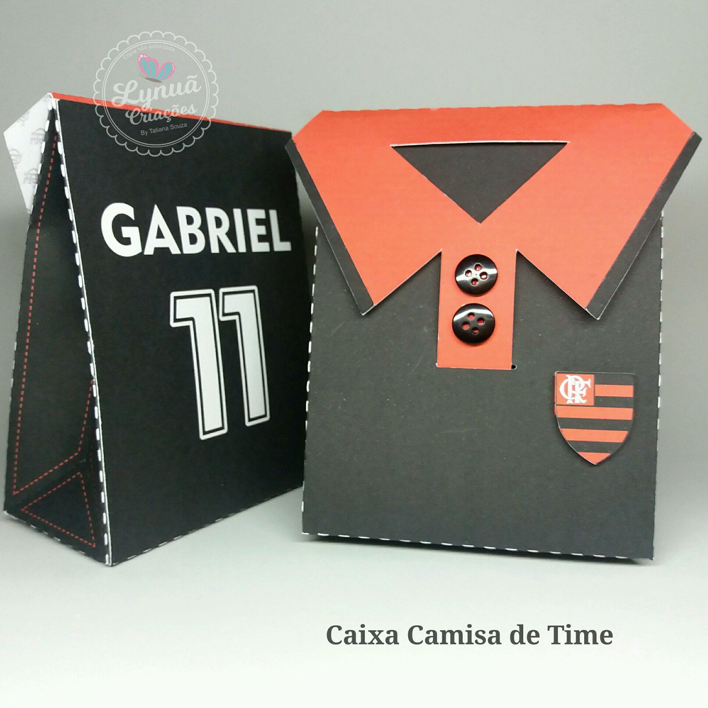 68c6550ebb Caixa Blusa Time Flamengo no Elo7
