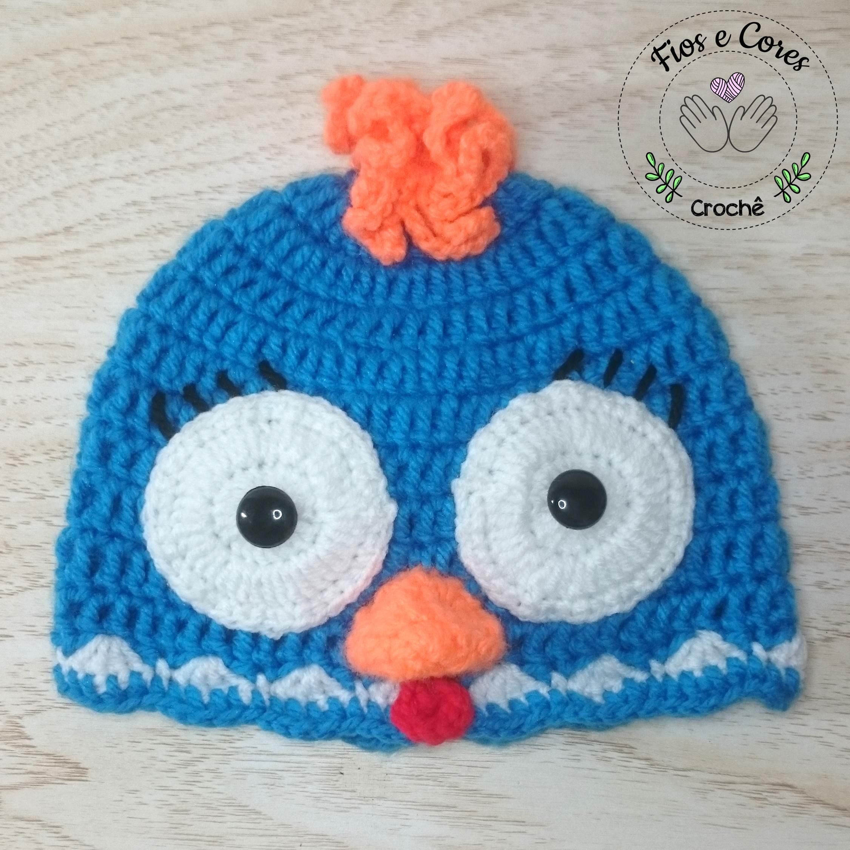 gorro-em-croche-galinha-pintadinha-gorro-em-croche ... 9c9a0aa7fe0
