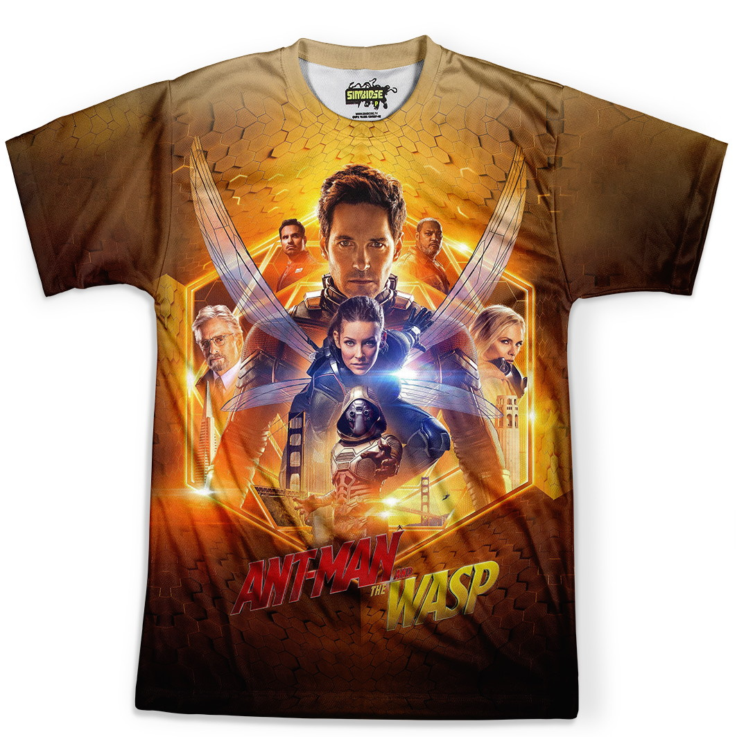 e1bb9b6bcd Camiseta Camisa Masculina Homem Formiga Filme Lancamento