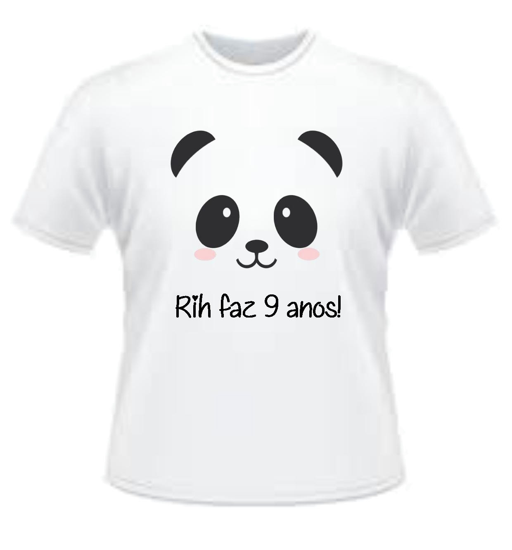 909cbec6b7 Camiseta de Panda