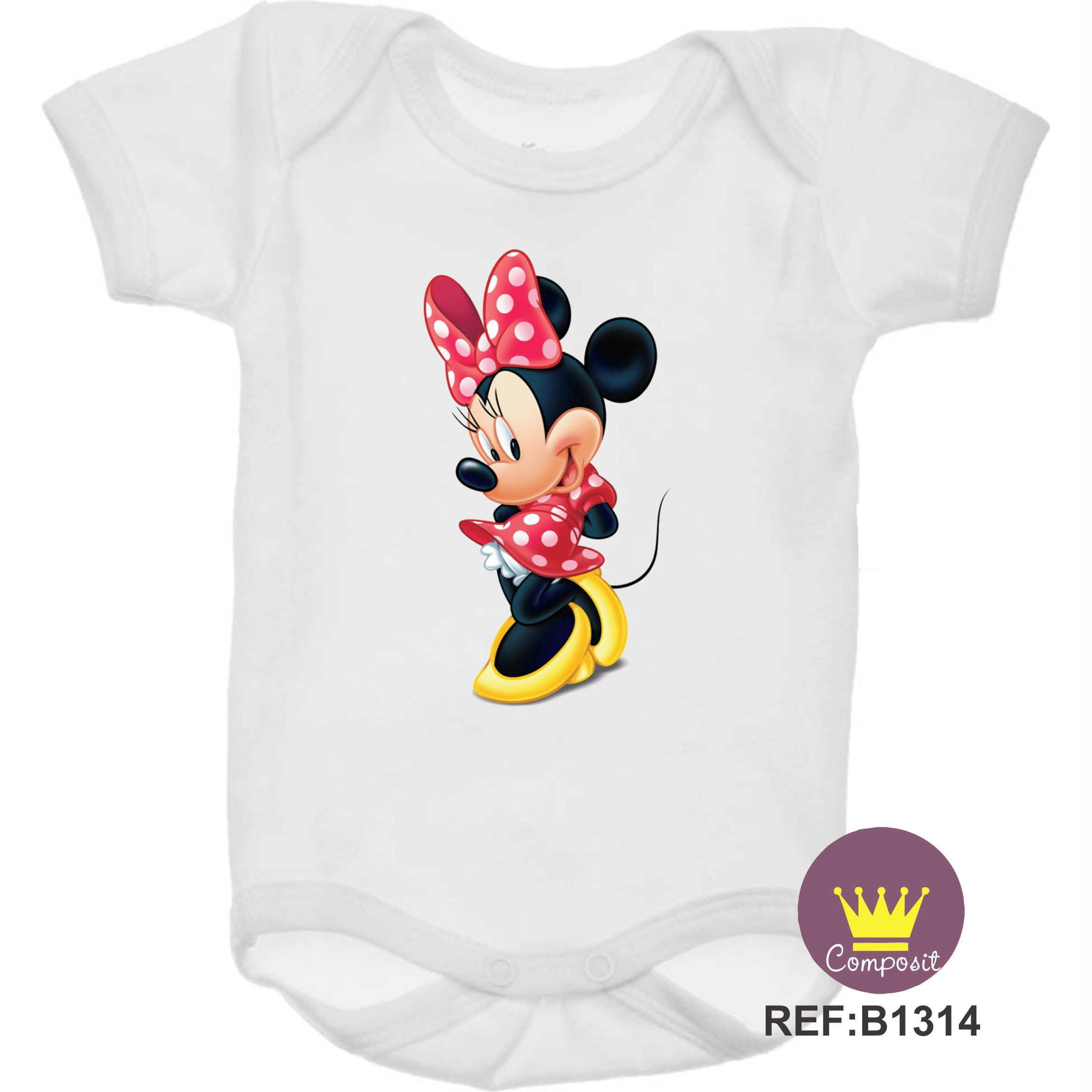 8776167f9 Body de Bebe Mickey Walt Disney