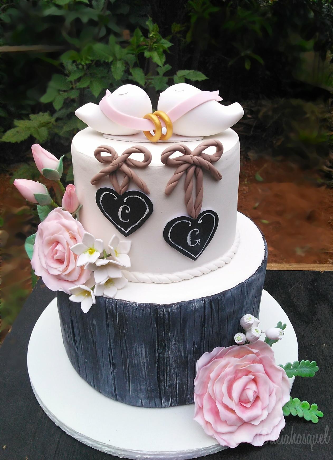 Resultado de imagem para topo de bolo casamento