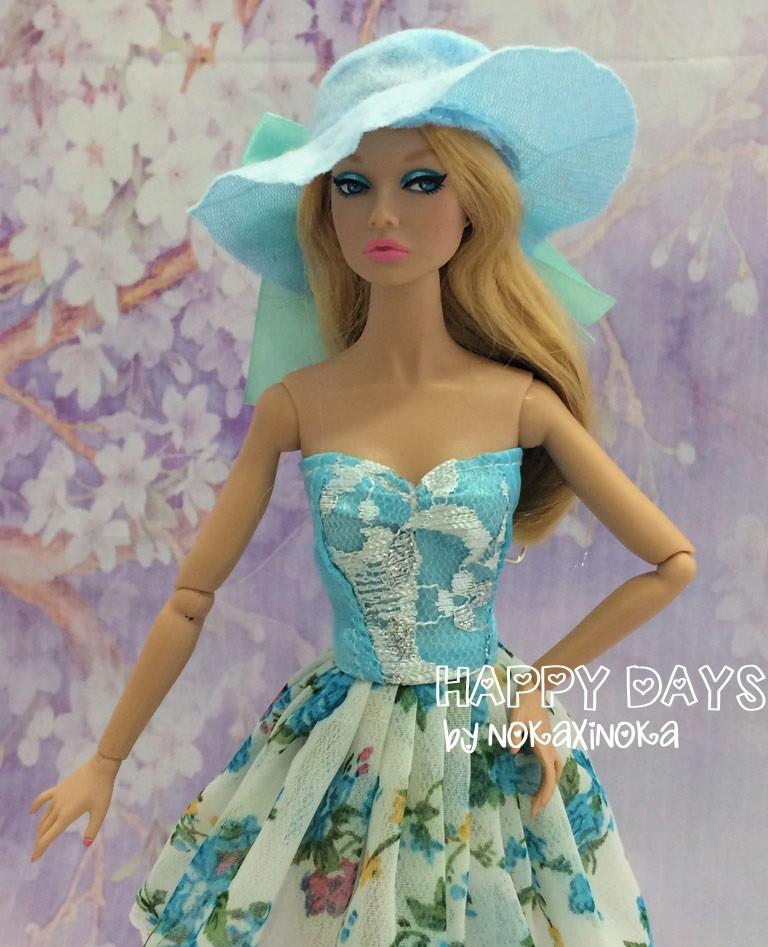 Bolsa e Chapeu para Boneca Barbie em RS  b2b1860e117
