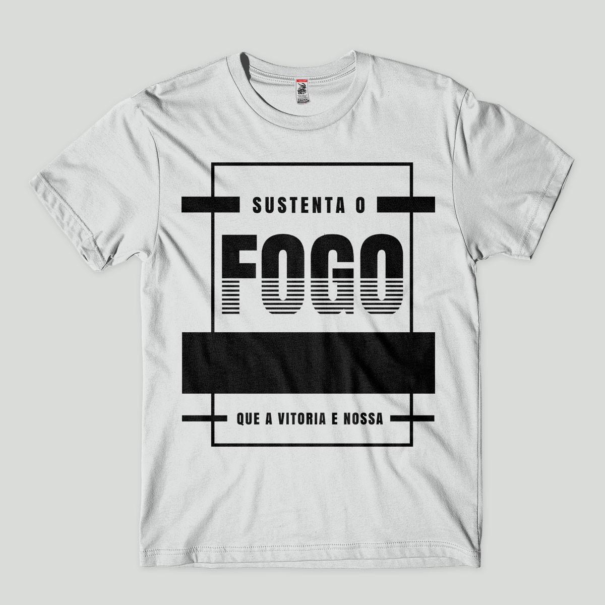 Camiseta Evangélica Blusa Cristã Camisa Gospel Fogo no Elo7  ae608e412b9