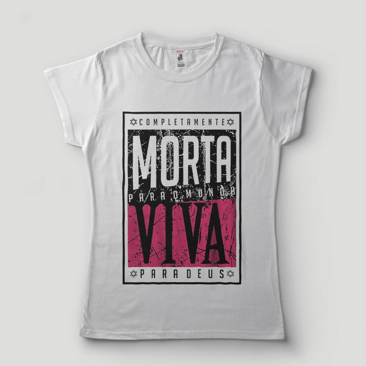 Camisa Viver Intensamente  73d8611843925
