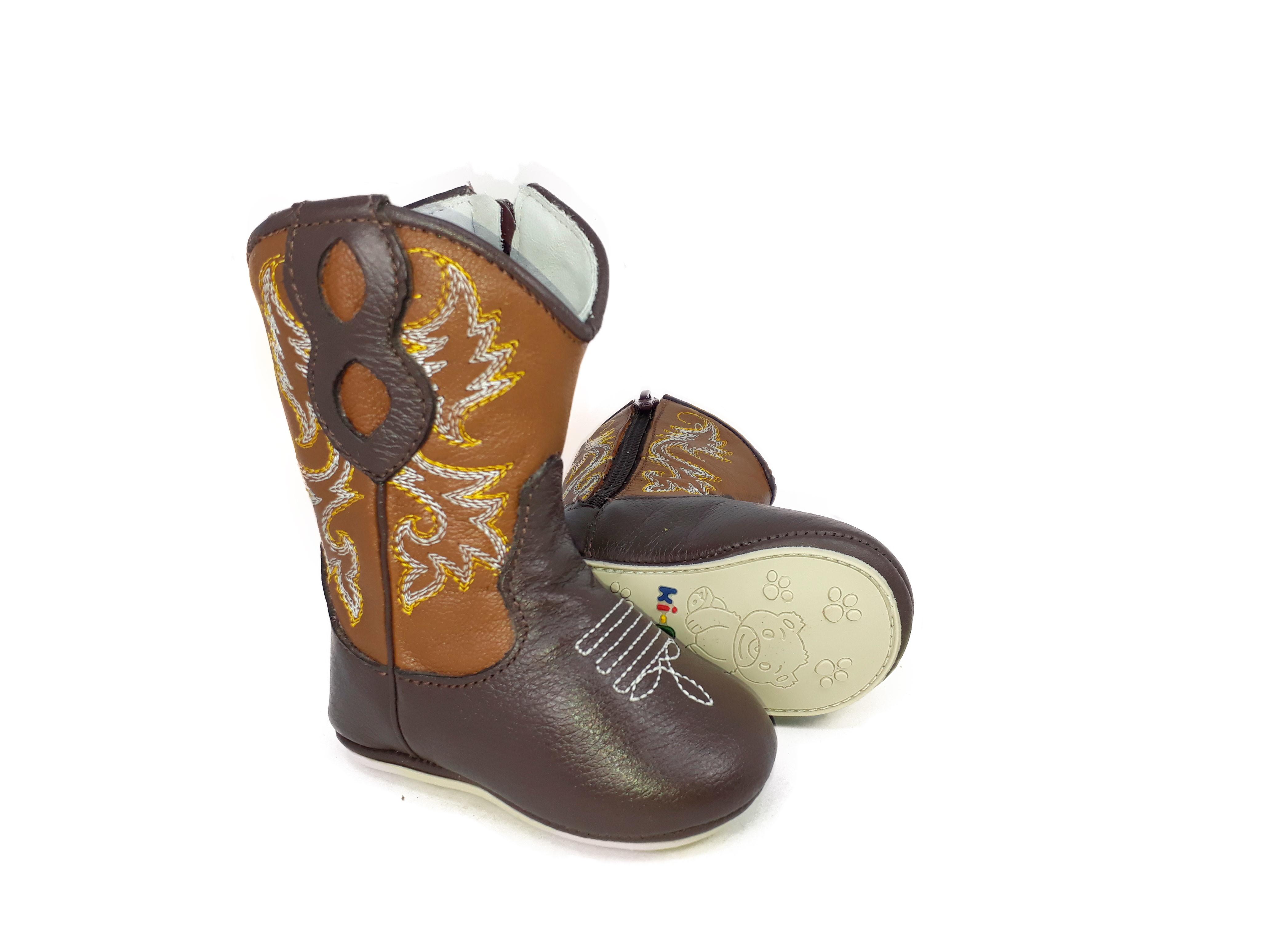54f7fca8cd1359 Bota de Bebe Country Texana Menina Cowboy Rodeio 1831