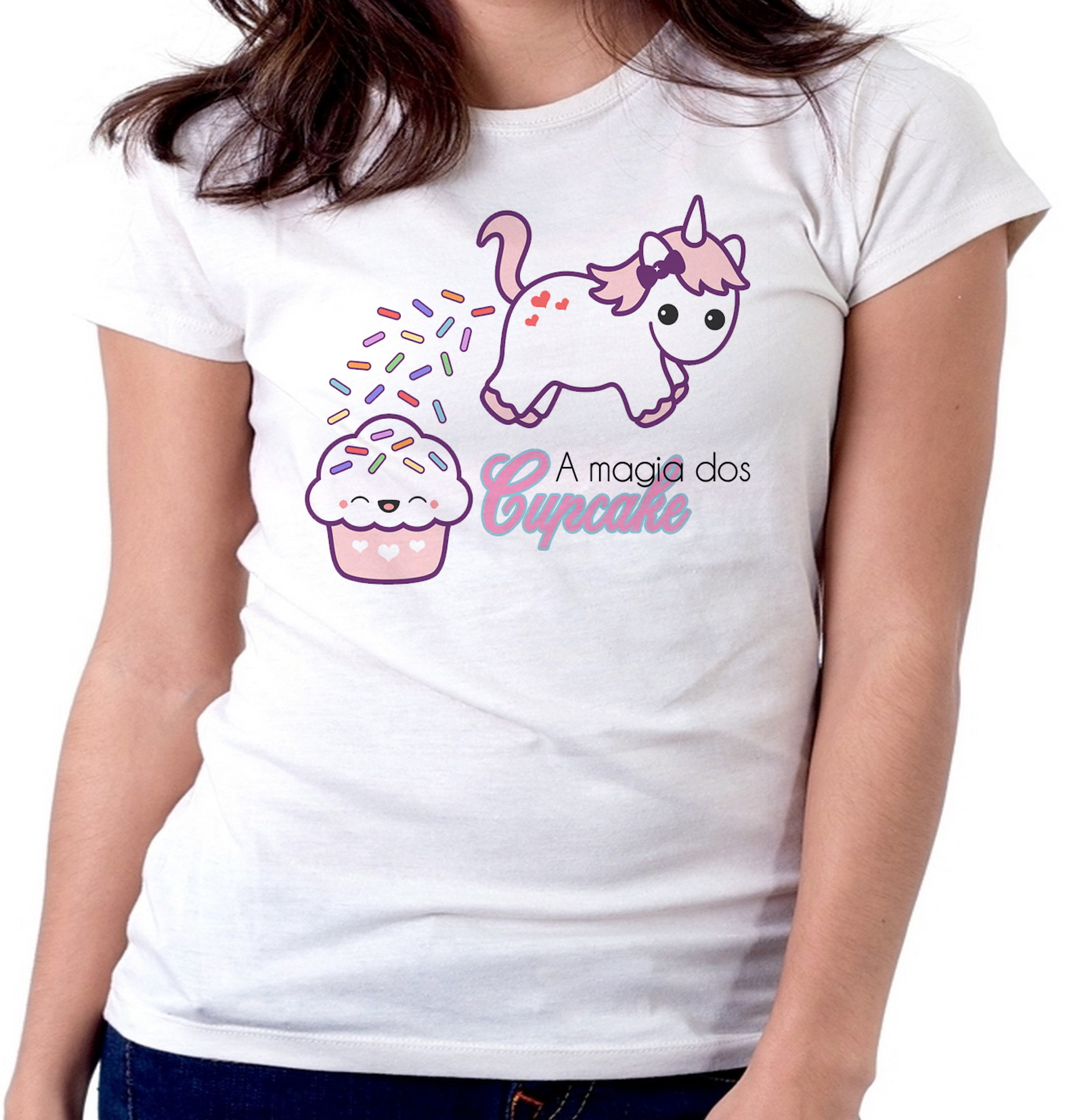 Blusa Cupcake  df6265432367a