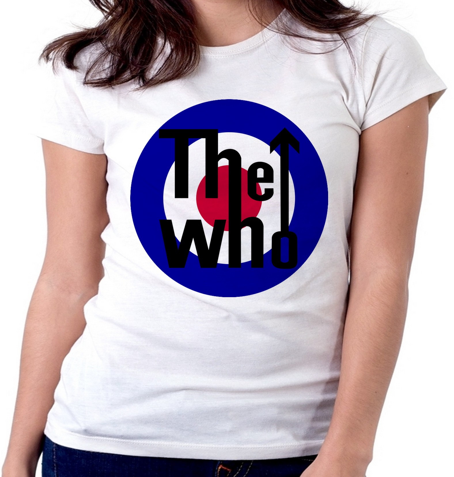 Blusa Banda The Who  aab2806d81293