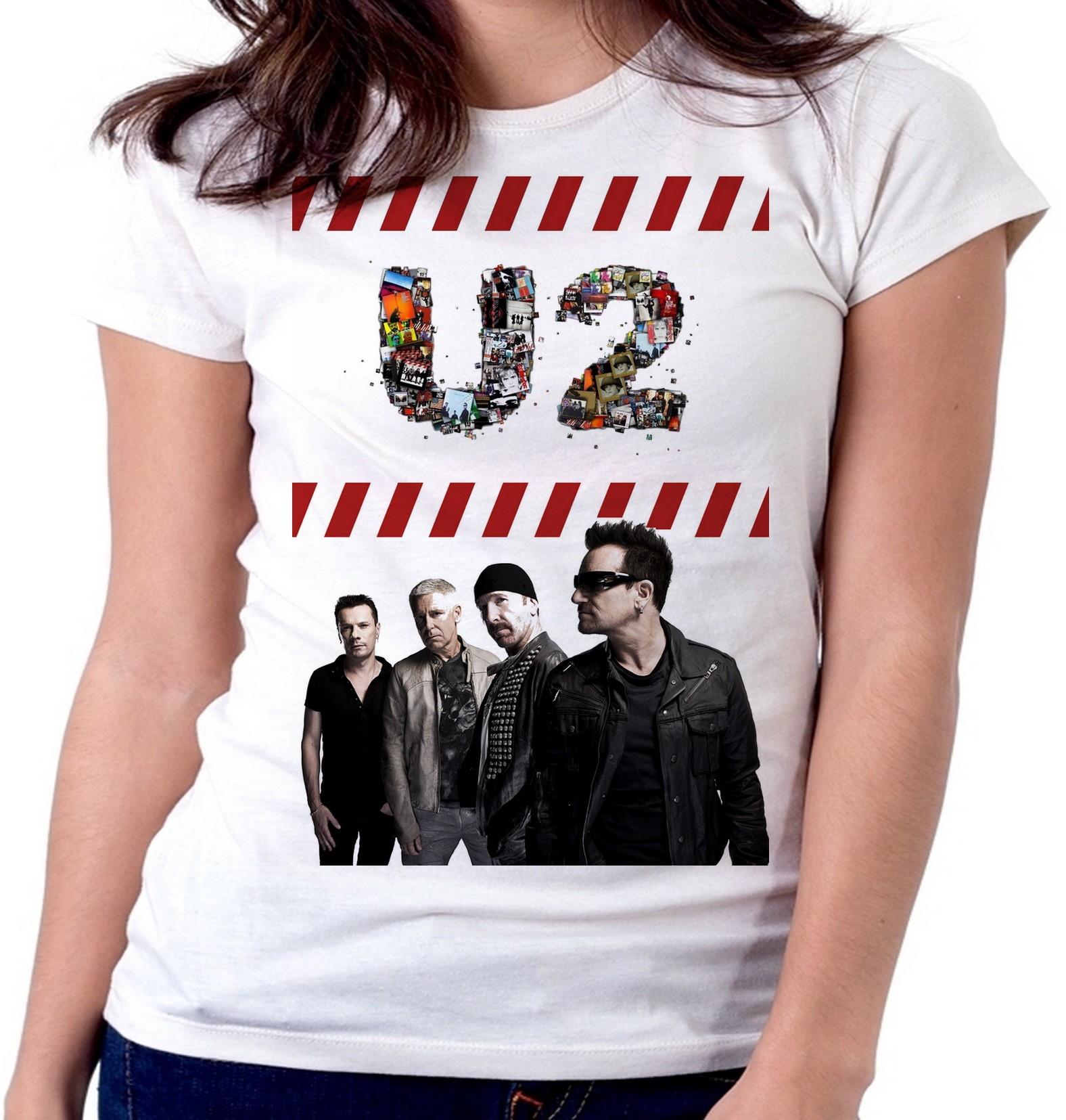 Baby Look U2 Banda Rock Cantor  52189c90acc32