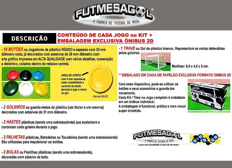 3fea1243aa 15 Times Kits Futebol de Botão Real Madrid 2018 com fotos no Elo7 ...