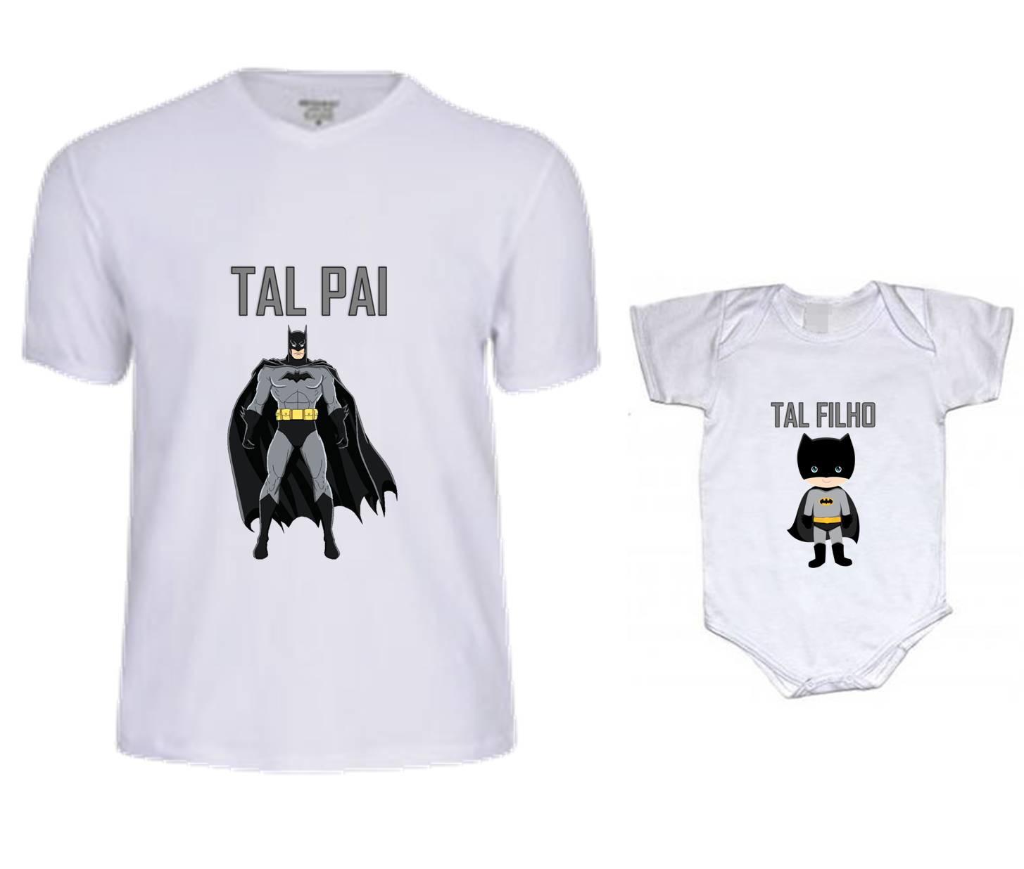 Camiseta Pai e Filho Kit Tal Pai Tal Filho Tricolor G79  8fe87e1ab4c10