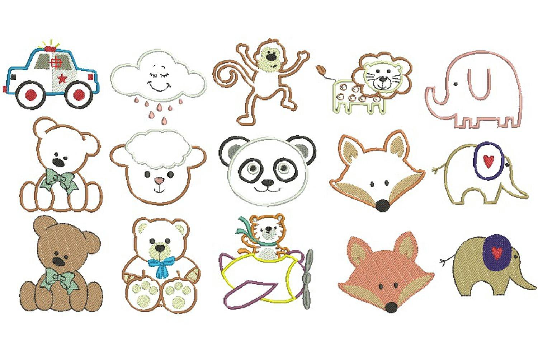 Desenhos Infantis Diversos 001 No Elo7 Arte De Bordar Matrizes