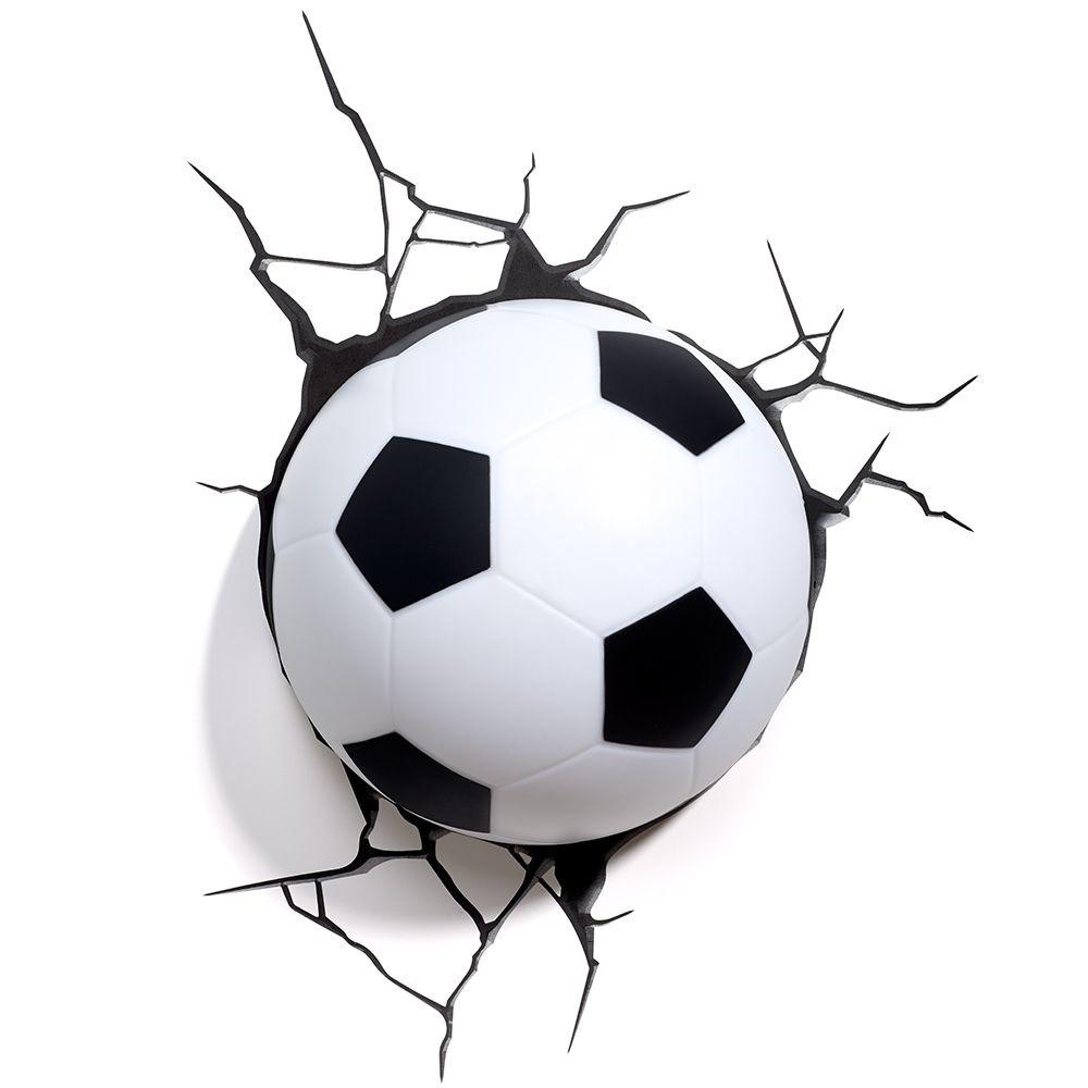 9cb1090234cbb Abajur Infantil Criança Menino Bola De Futebol Led 3d no Elo7 ...