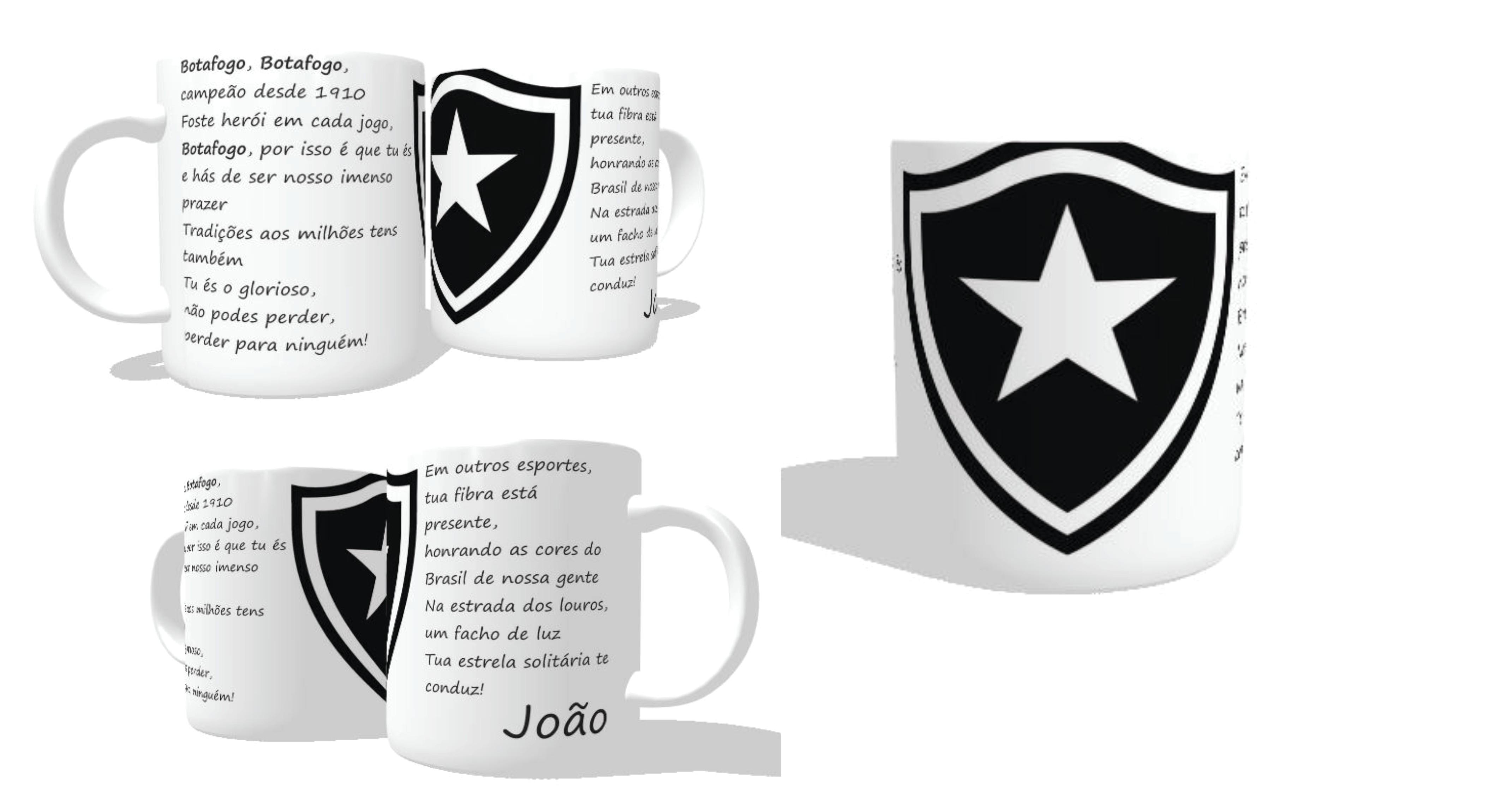 ded97dfd52 Caneca Personalizada Botafogo