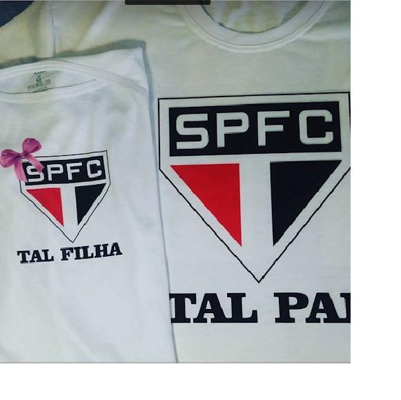 Camiseta Bordada Sao Paulo  515743e1a1961