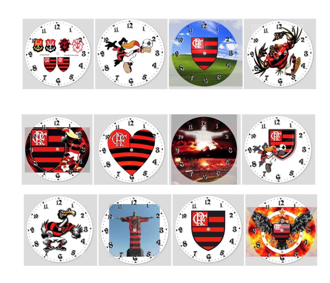 5e8860383f Relogio Esporte Futebol Flamengo Times
