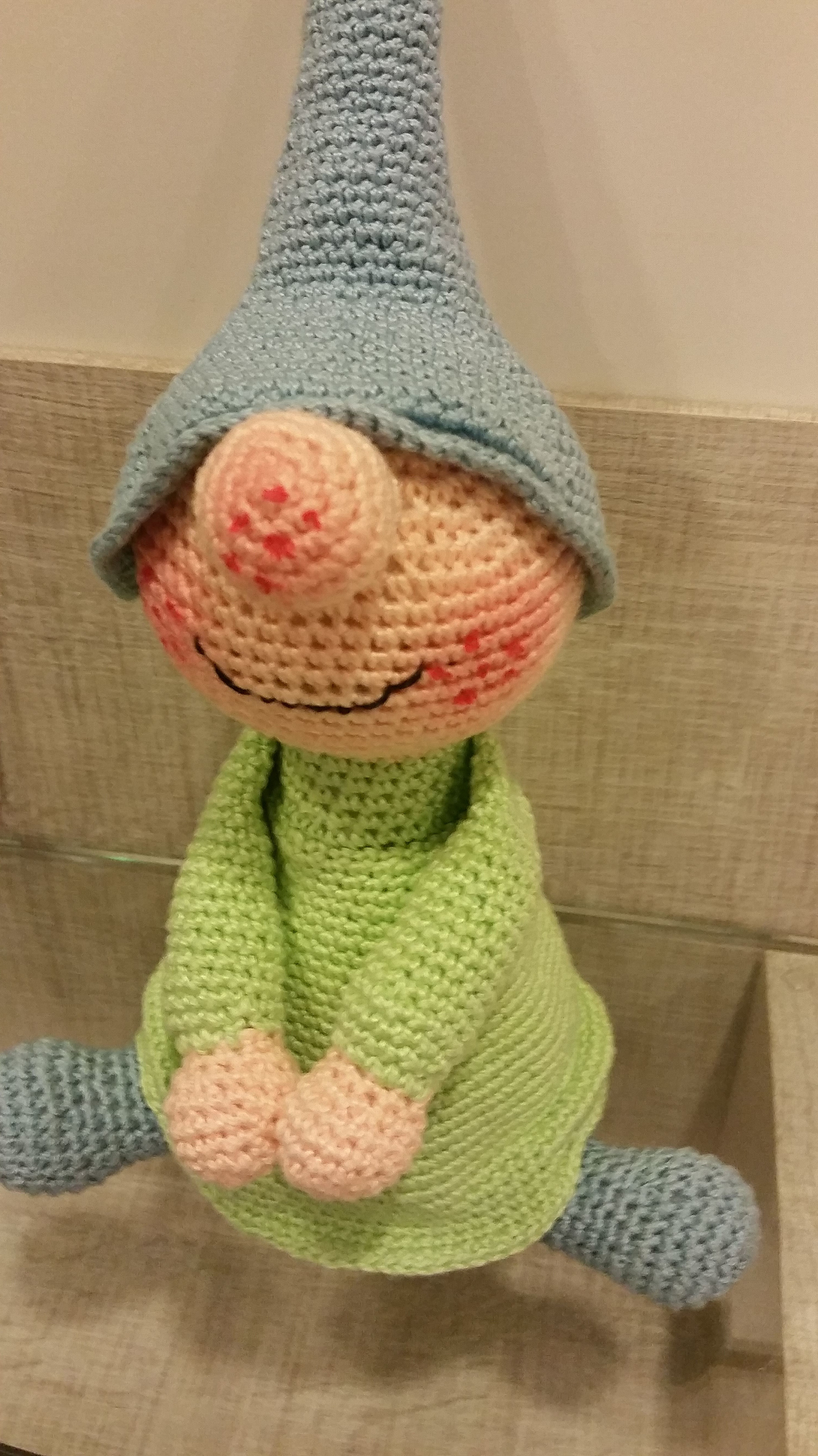 Ravelry: Weebee Doll Elf Hat pattern by Laura Tegg | 5312x2988