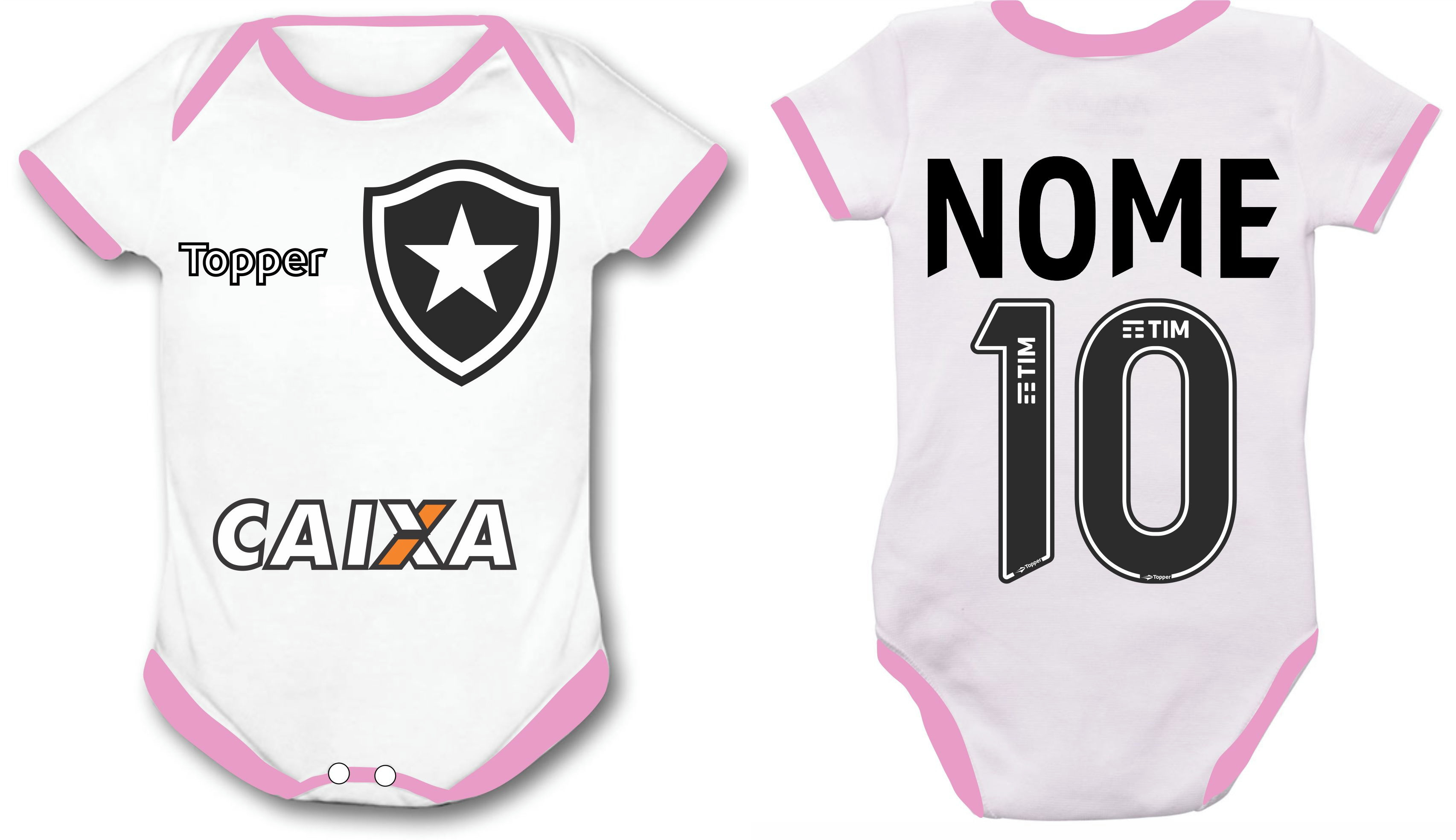8bf1fdf78e Roupas do Botafogo Menino e Menina